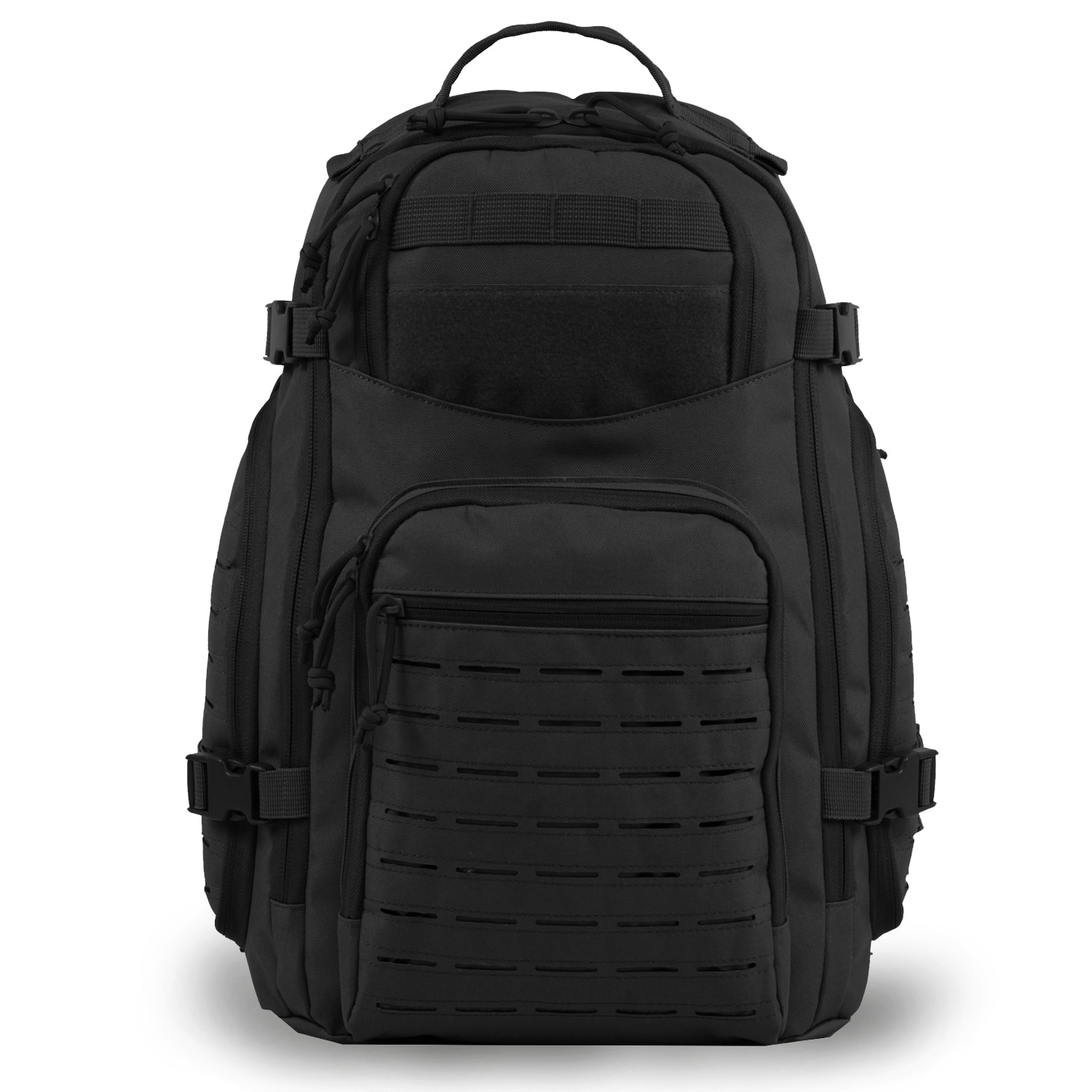 18b4f556c4ce Highland Tactical Roger Tactical Backpack with Laser Cut MOLLE Webbing