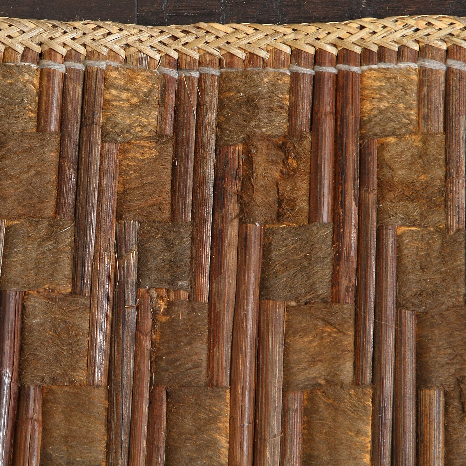 Handmade Woven Natural Bamboo Rattan Area Rug 10 X 14 Indonesia On Free Shipping Today 16989293