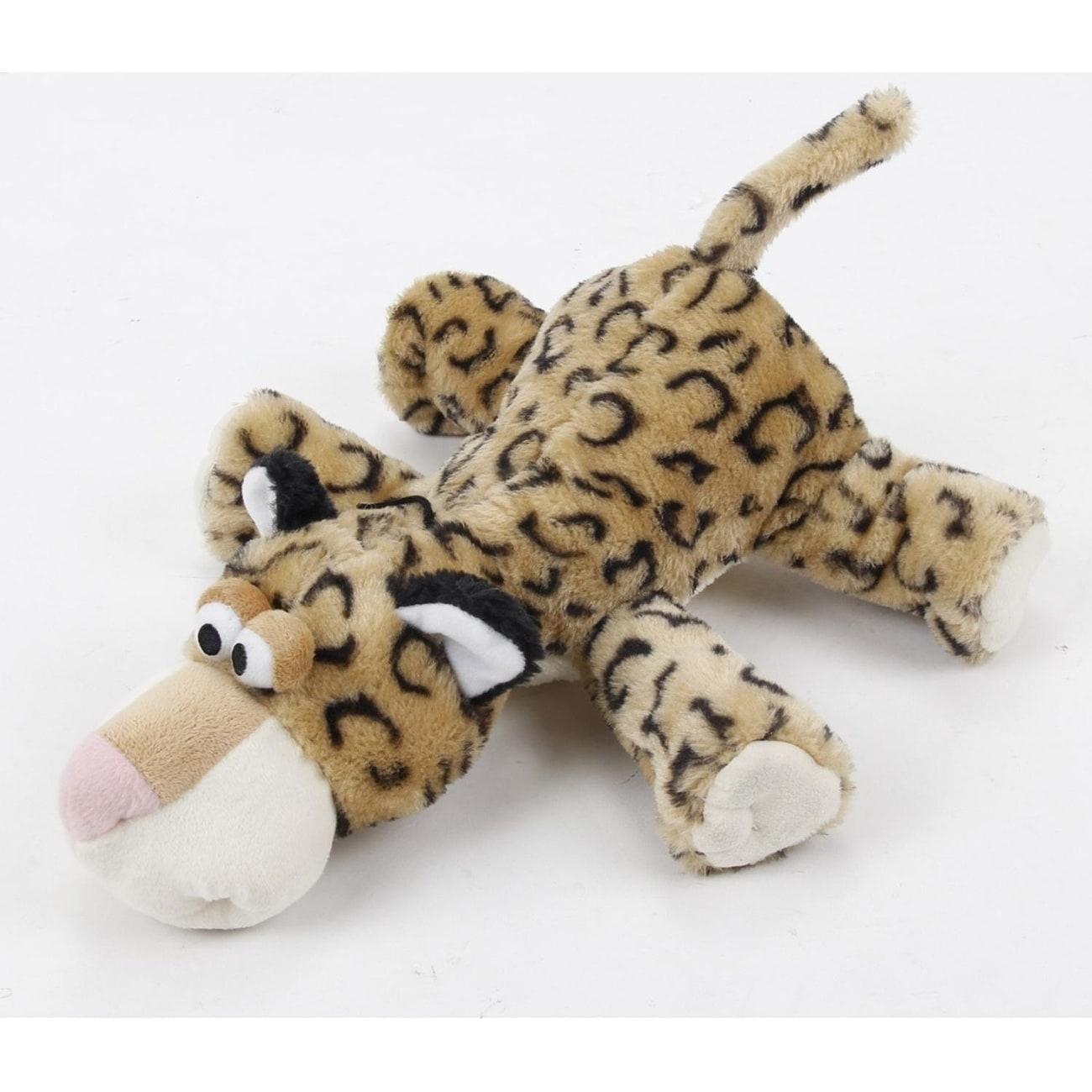 Shop 13 Plush Black And Brown Leopard Stuffed Animal Puppy Dog Chew