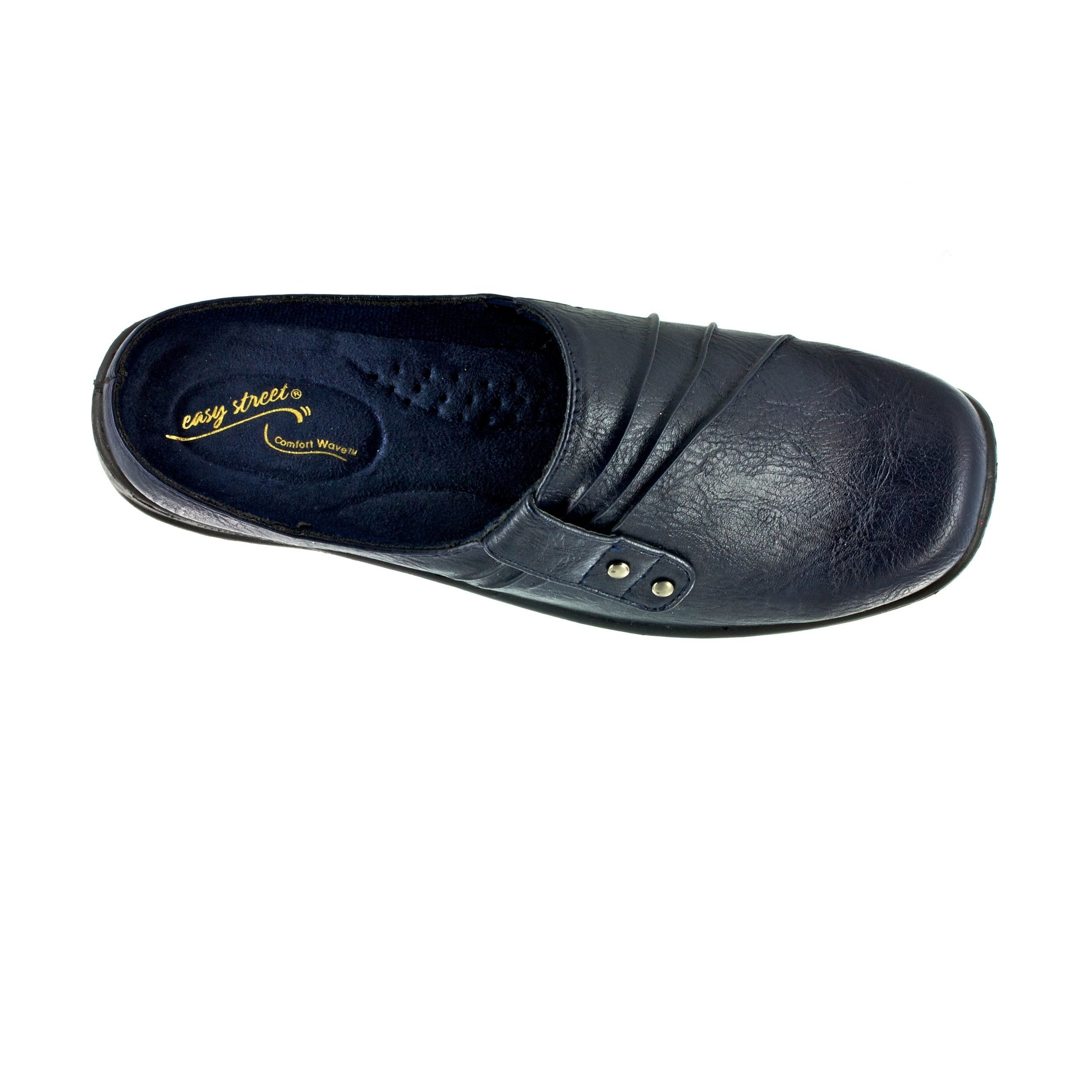 4cb0d7d705 Shop Easy Street Women s Holly Comfort Clog (Navy) - Free Shipping Today -  Overstock.com - 16994426