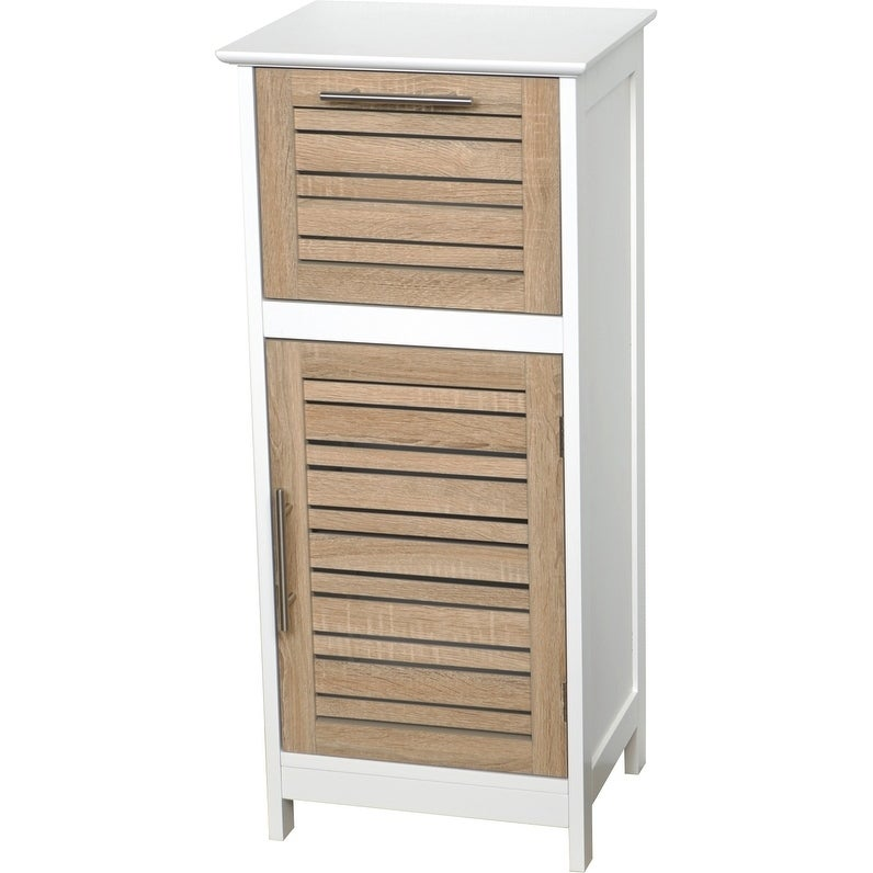 Shop Evideco Bathroom Free Standing Storage Floor Cabinet Stockholm ...