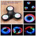 Black Detachable With Switch LED Light Finger Spinner Hand Spinner For Autism ADHD