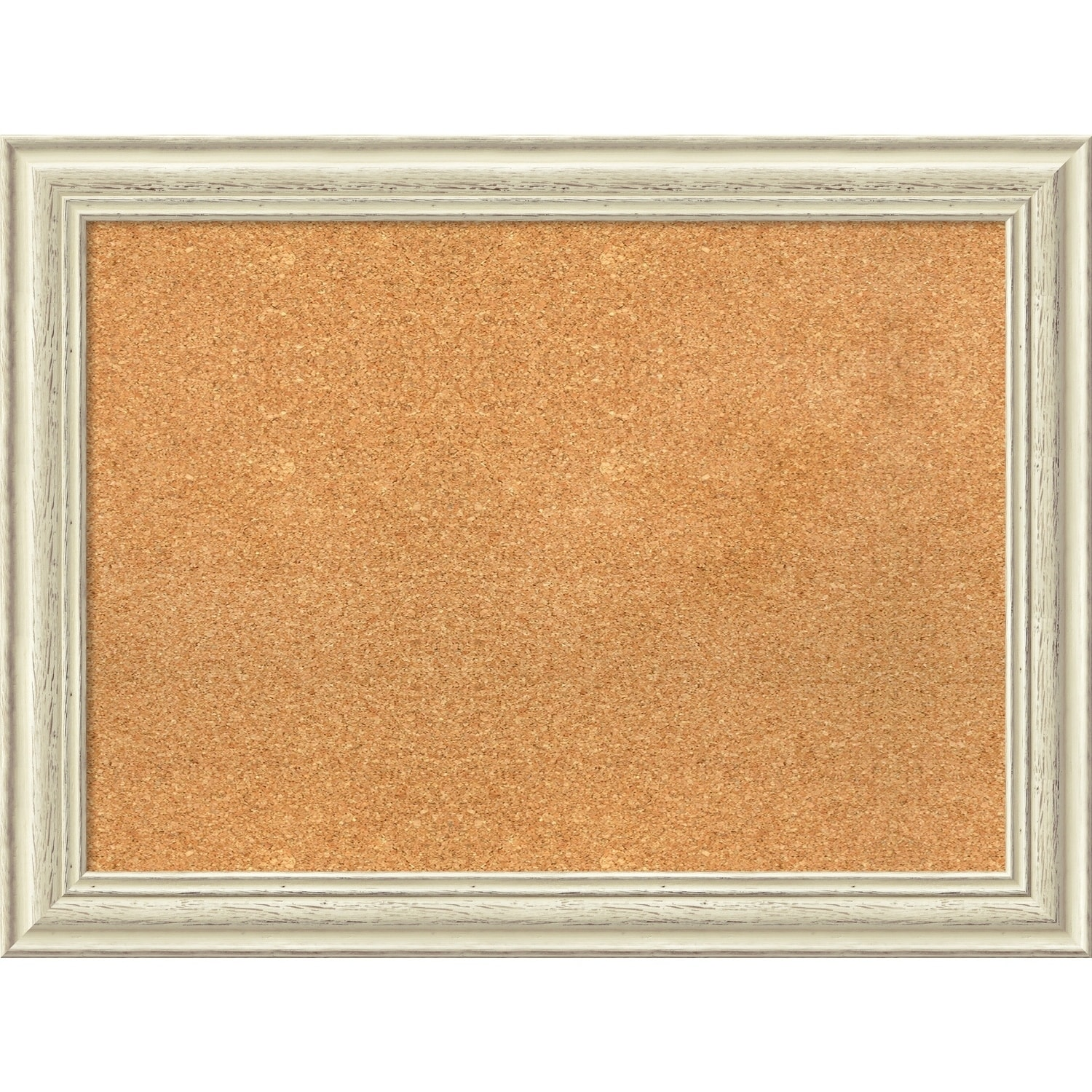 Shop Framed Cork Board, Country White Wash - On Sale - Free Shipping ...