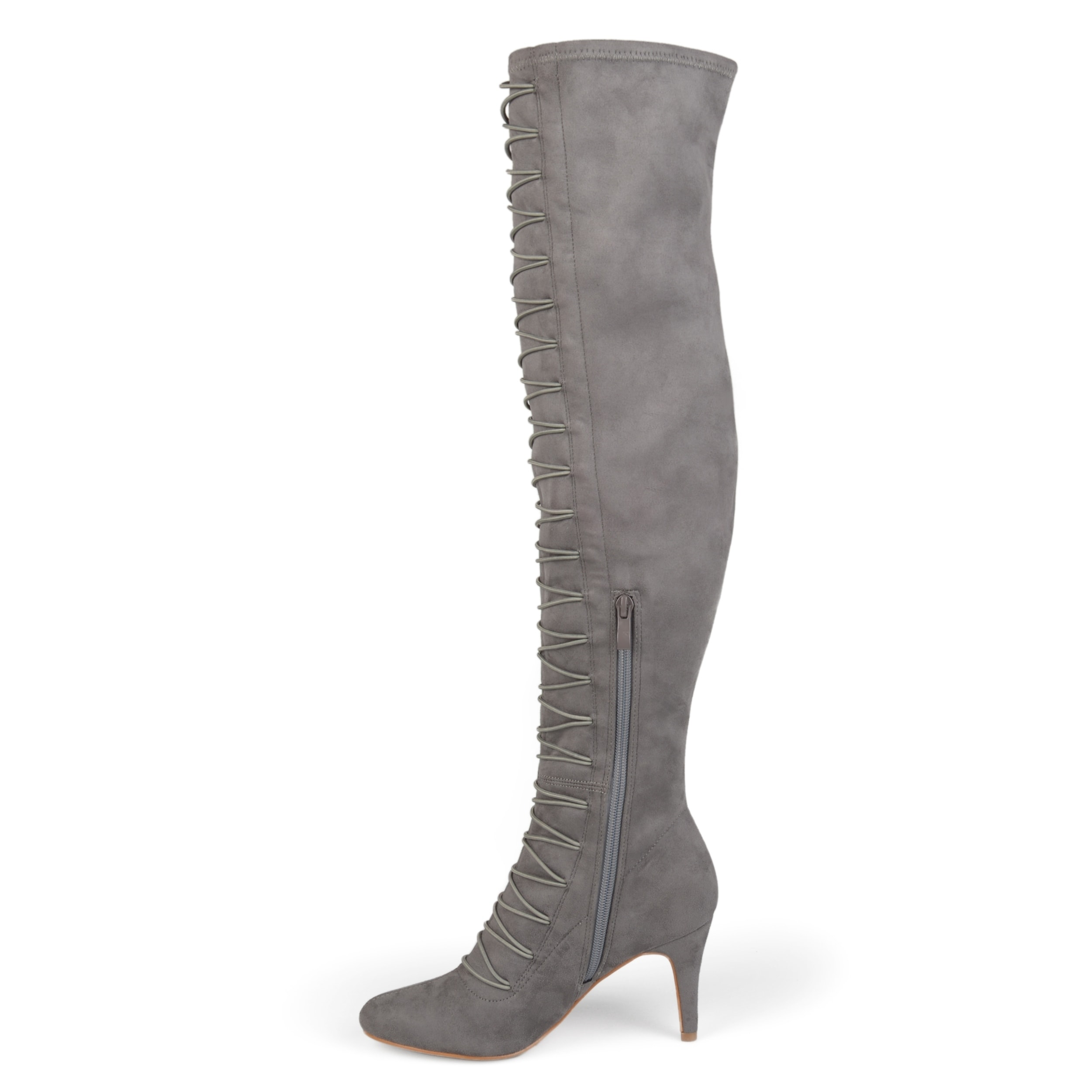 b5b57ae7937 Shop Journee Collection Women s  Trill  Regular and Wide Calf Boots - Free  Shipping Today - Overstock - 17011774