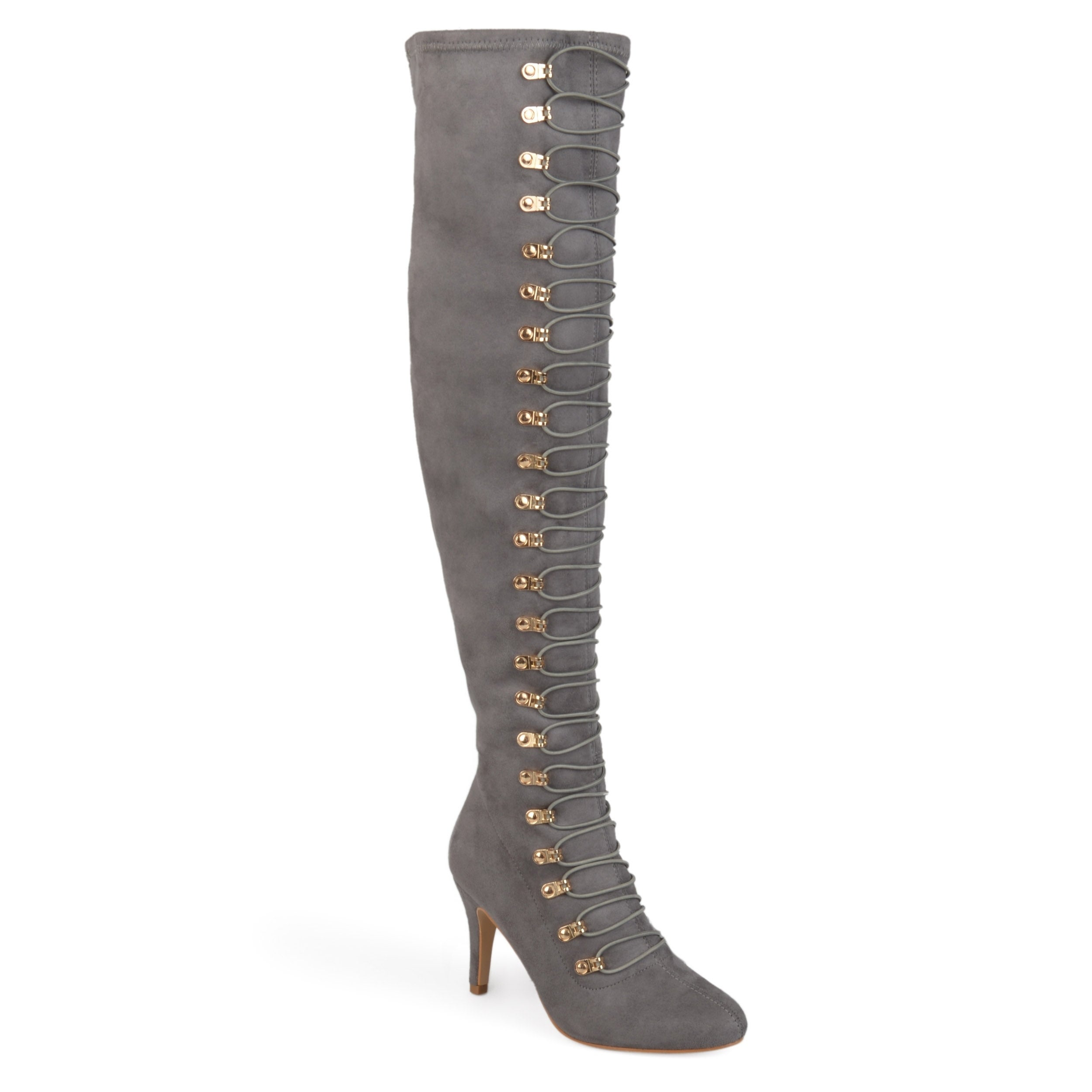 d02931532cab Shop Journee Collection Women s  Trill  Regular and Wide Calf Boots - On  Sale - Free Shipping Today - Overstock - 17011774