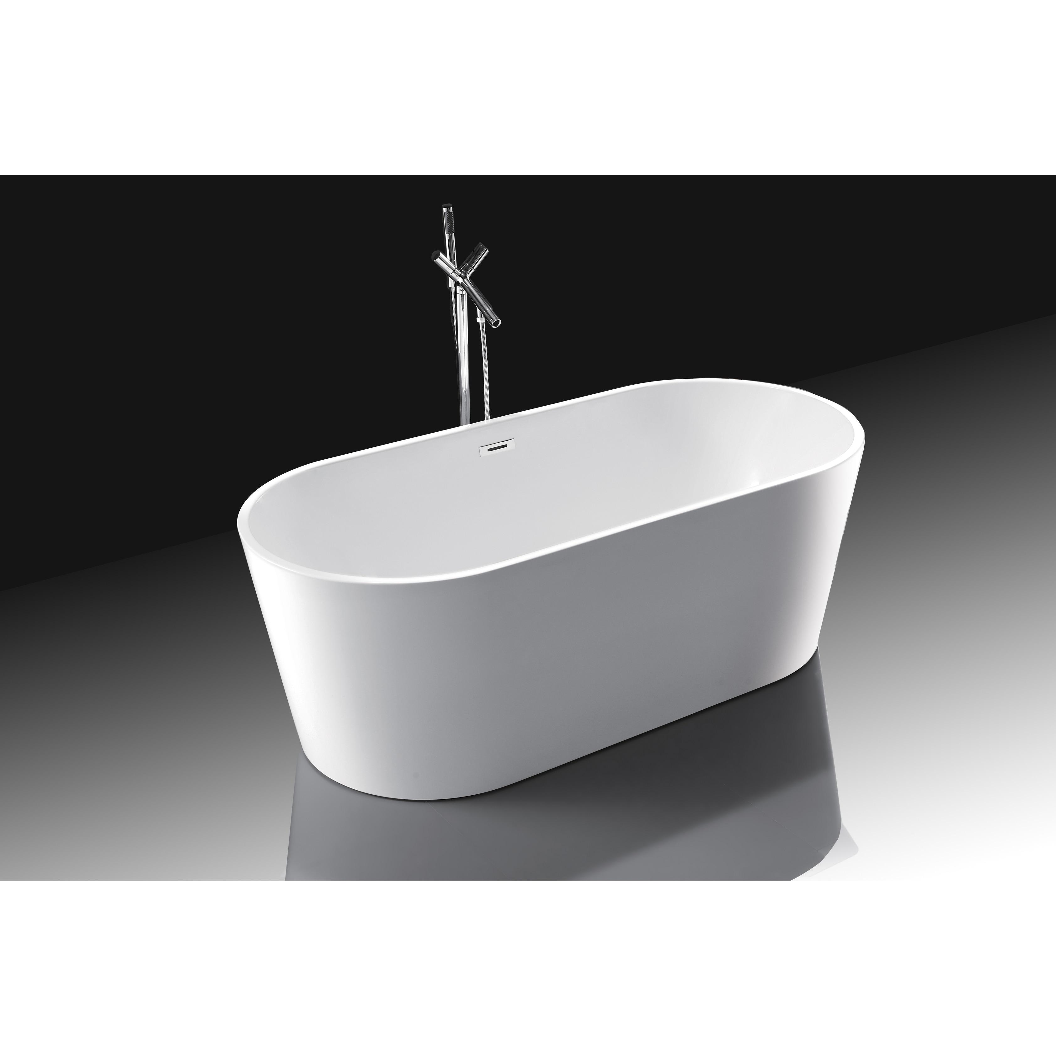 freestanding overstock bathtub oval product wyndham bathtubs garden shipping aarhus home free today