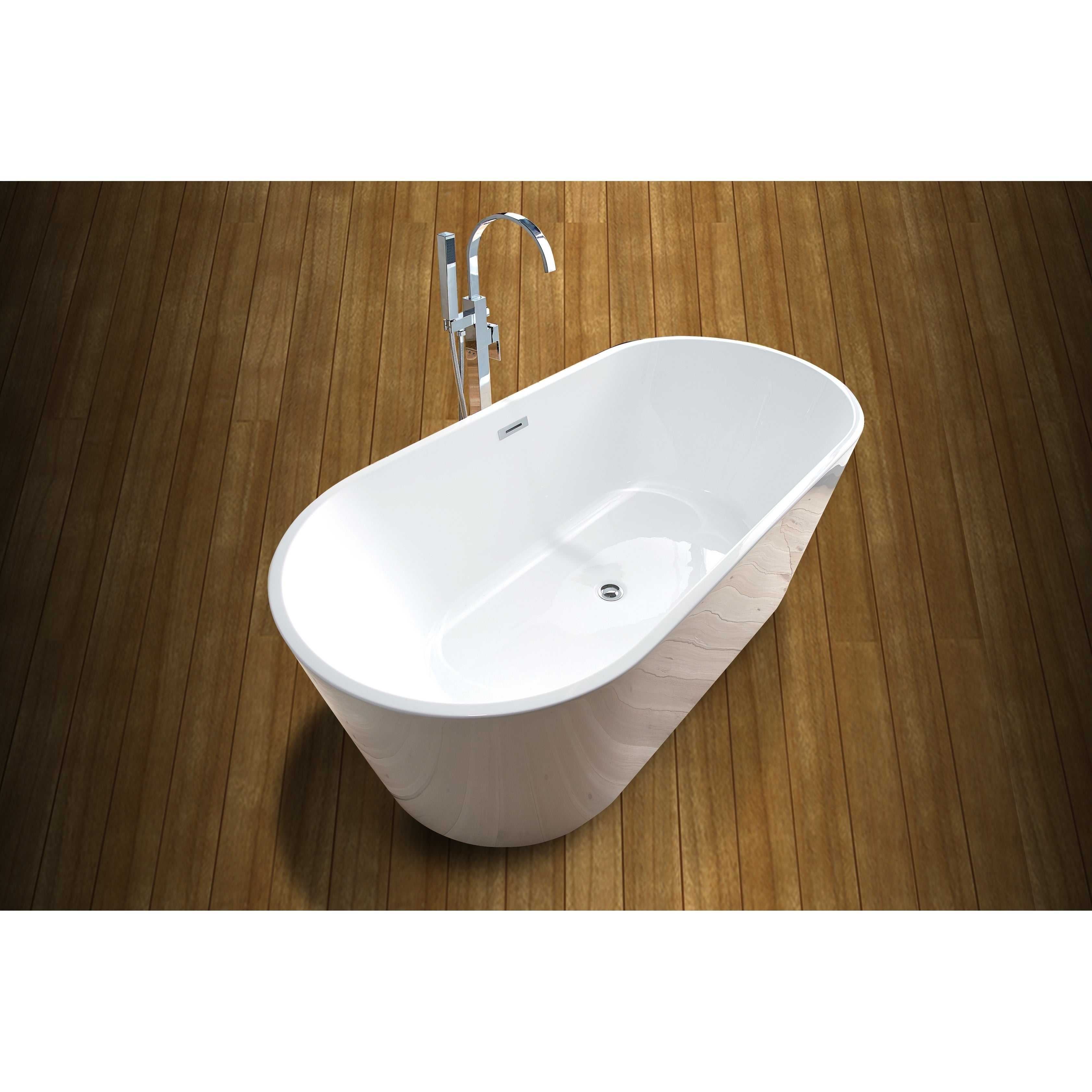 ends standing tub rim free bathtub tapered thin x oval