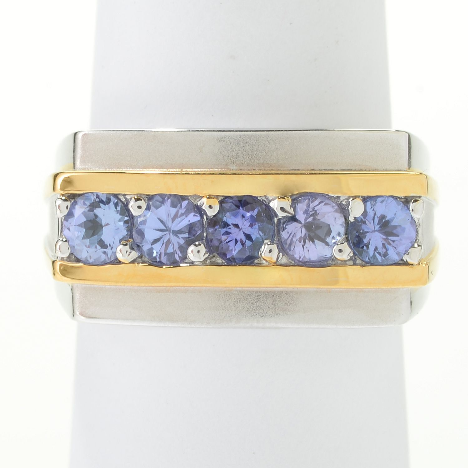 blue itm men yellow meg y bl tanzanite ring s gold ov sapphire tz silver ct mens plated