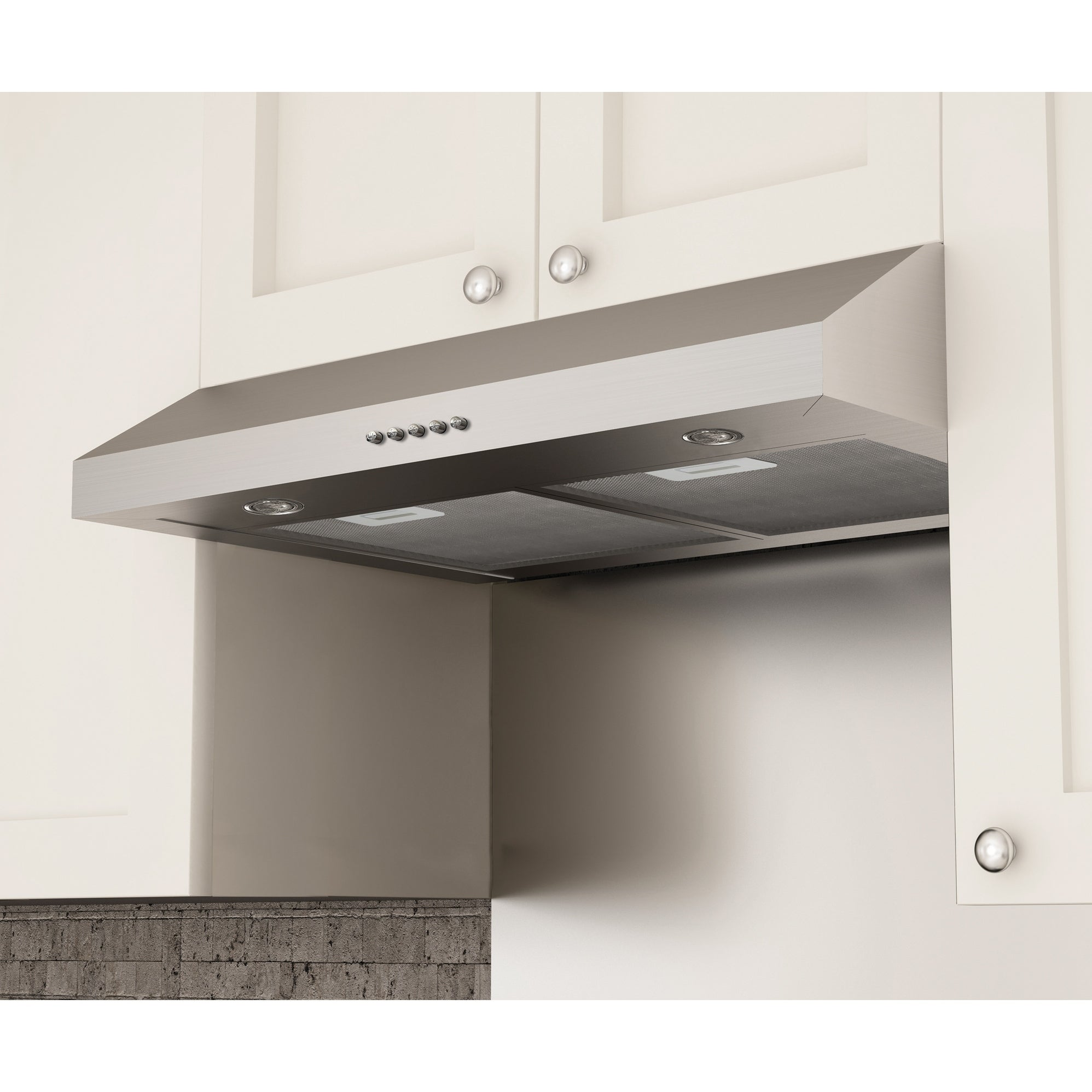 Wonderful Shop Ancona Slim SD330 30 In. Under Cabinet Range Hood In Stainless Steel    Free Shipping Today   Overstock.com   17016521