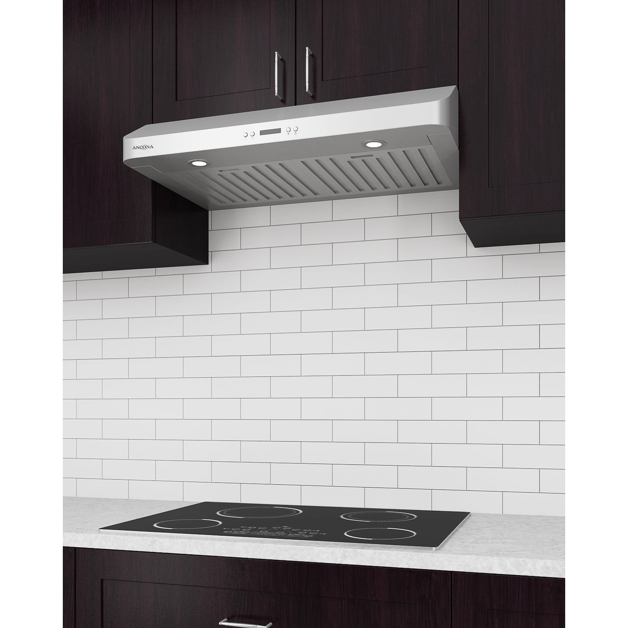 Attractive Shop Ancona Slim Chef 30 In. Under Cabinet Range Hood In Stainless Steel    Free Shipping Today   Overstock.com   17016537
