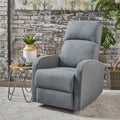 Gaius Class Gliding Fabric Recliner by Christopher Knight Home