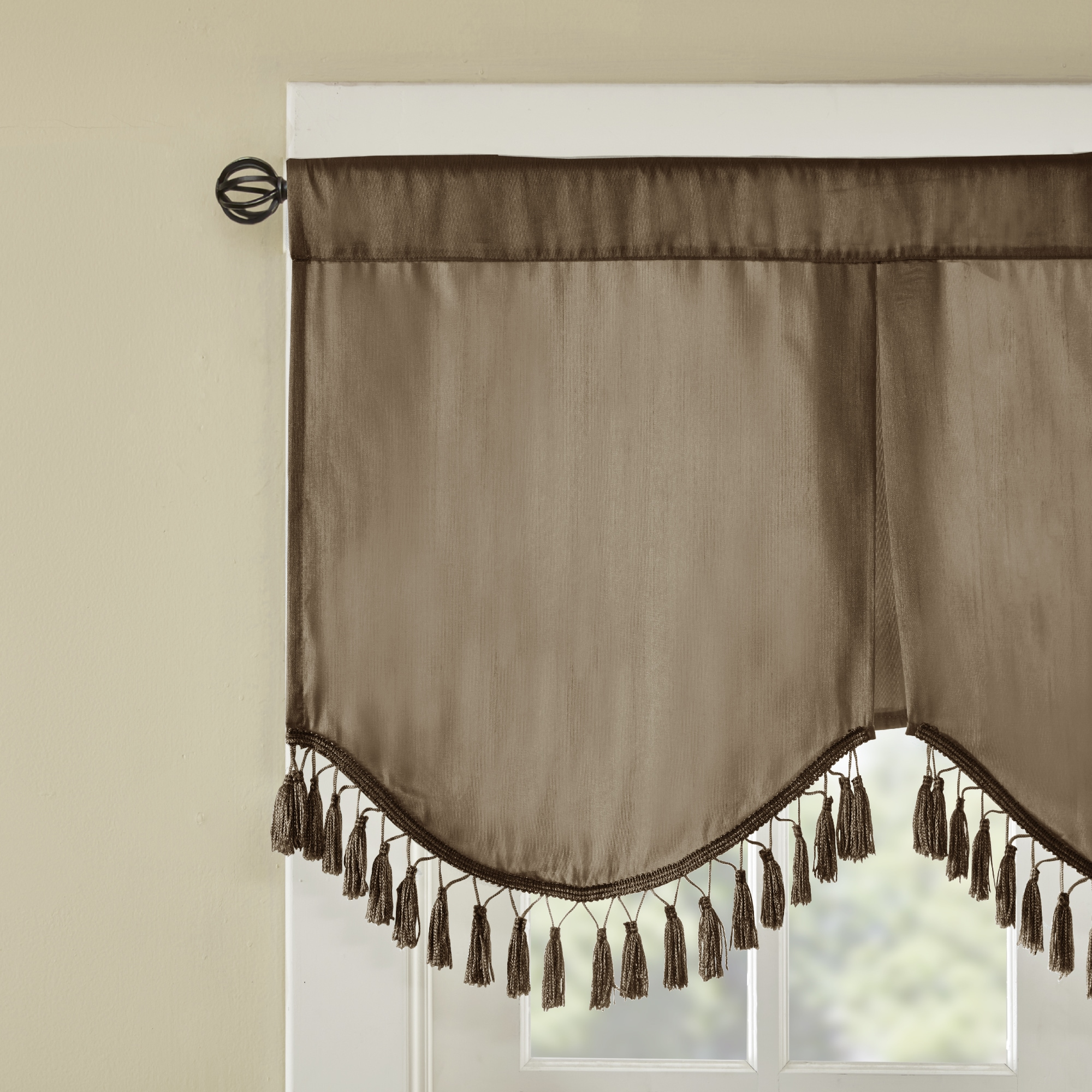 waterfall treatments color pin lined x valances classics and home r window valance