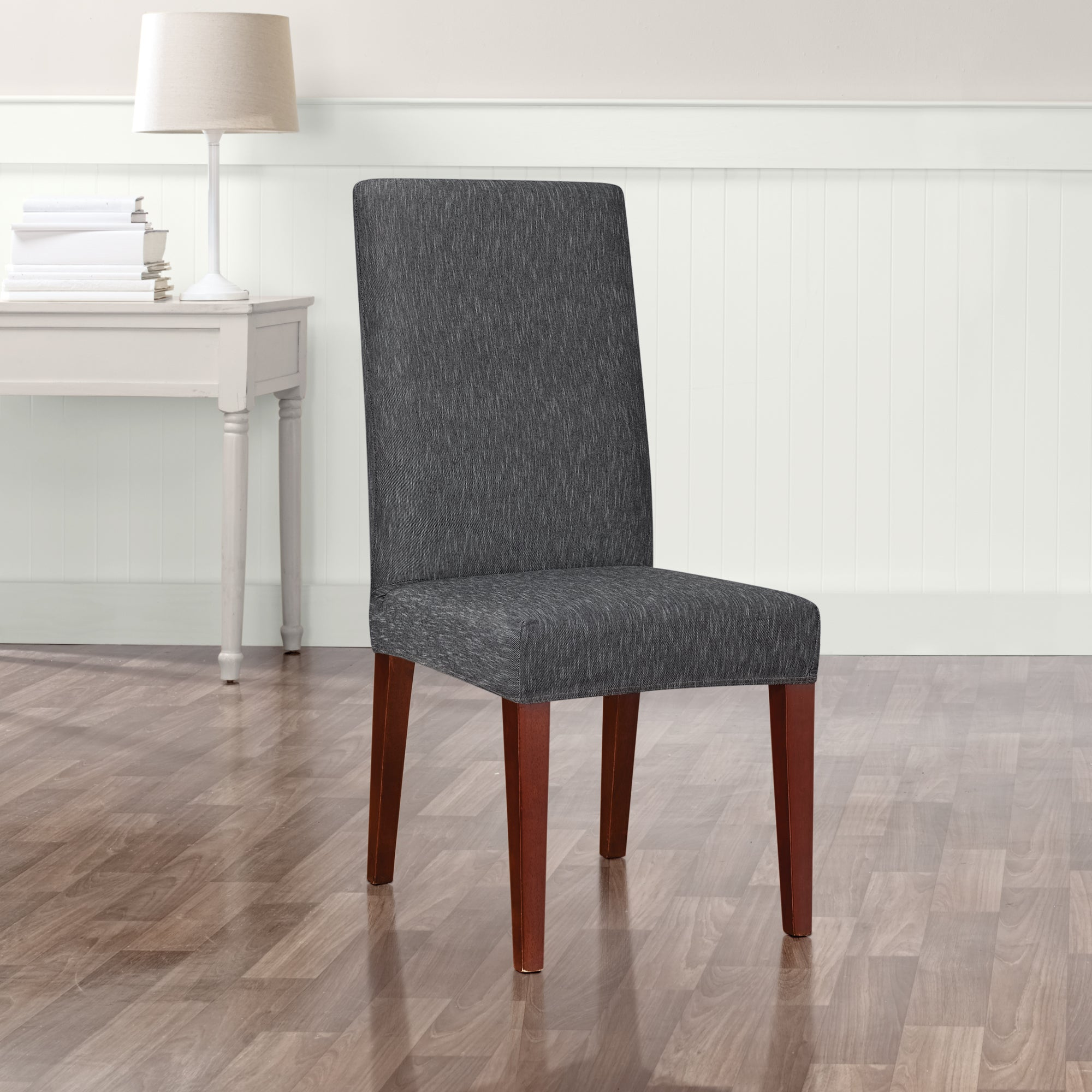 dining room chair slipcovers short