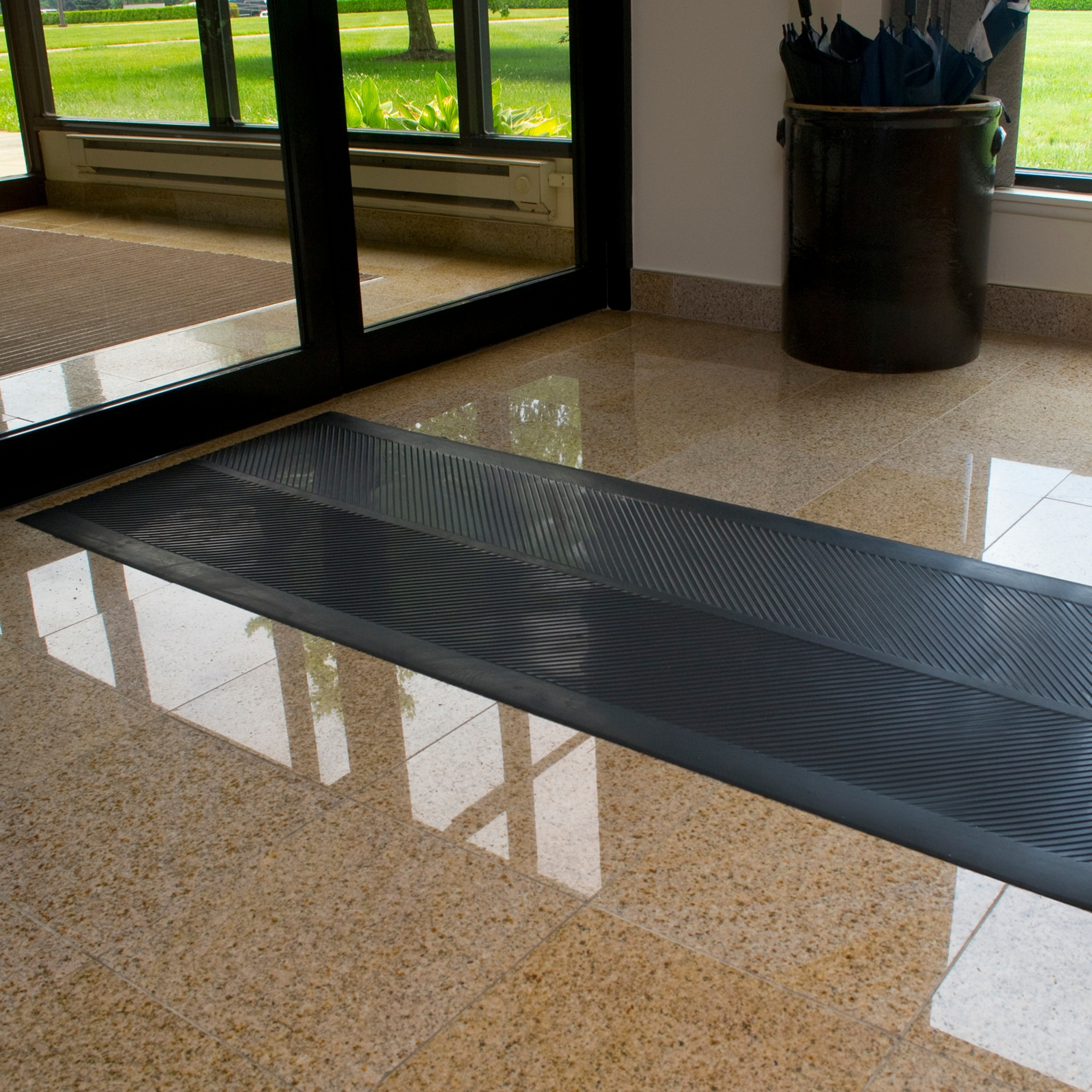 Dimex Climatex 27 X 6 Indoor Outdoor Rubber Runner Mat Black Free Shipping On Orders Over 45 17025532