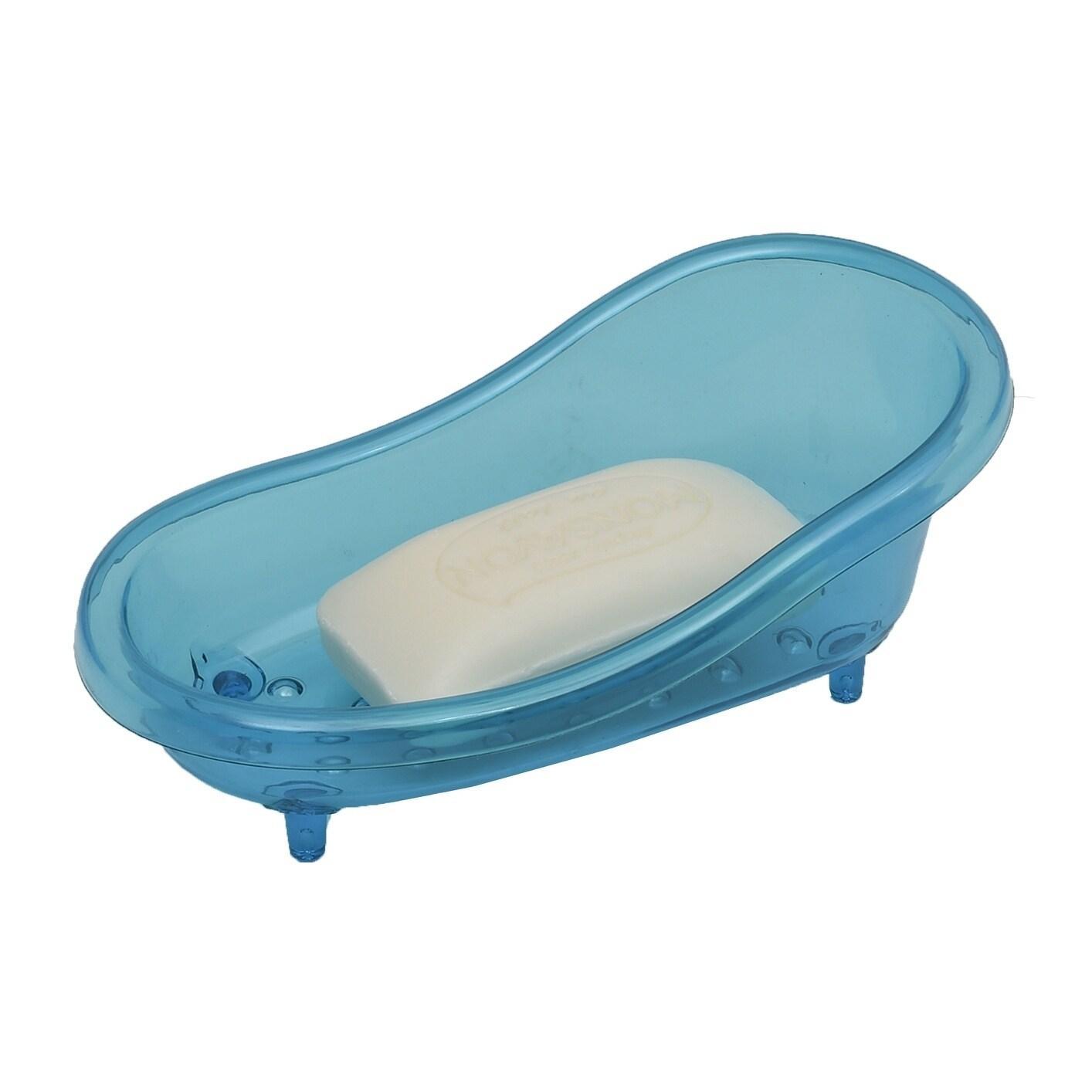 Shop Evideco Claw-foot Deco Bathtub Soap Dish EVE Clear Acrylic ...