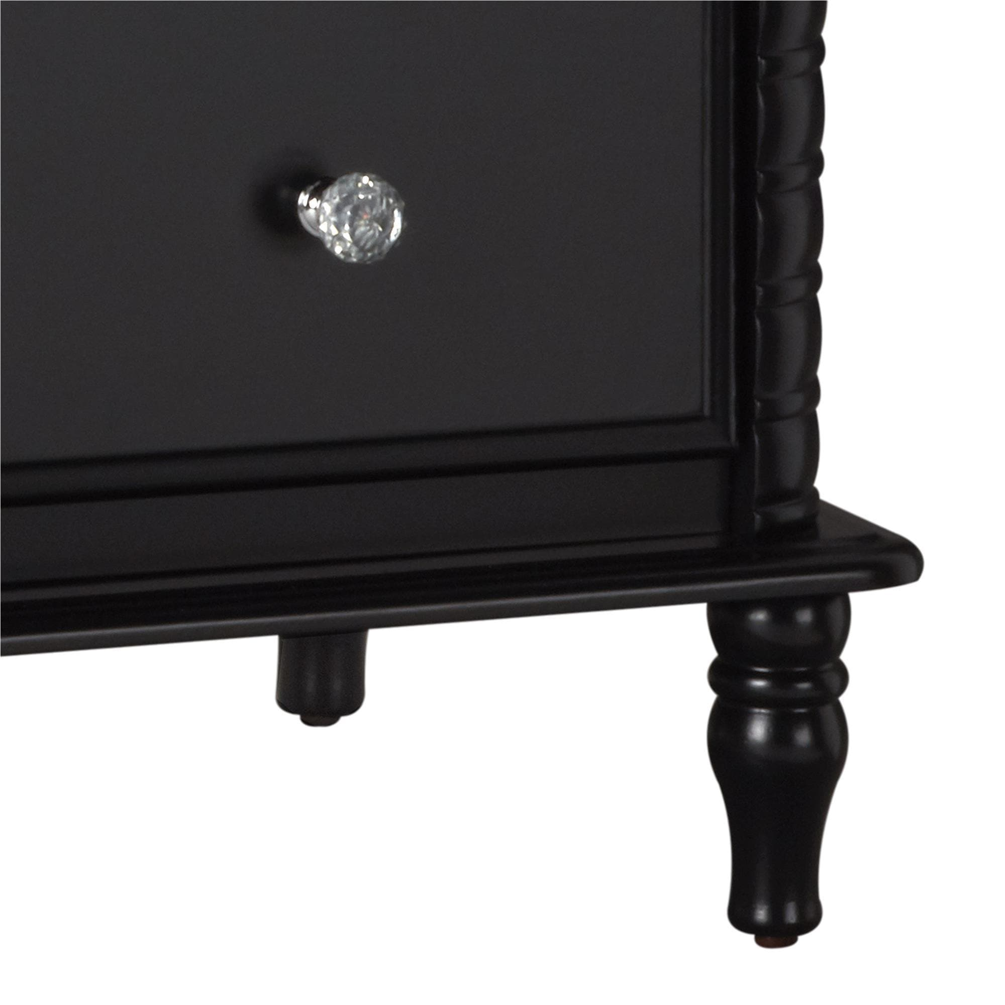 chest uc furniture from image black of drawer dresser faux bedroom leather draws prado drawers