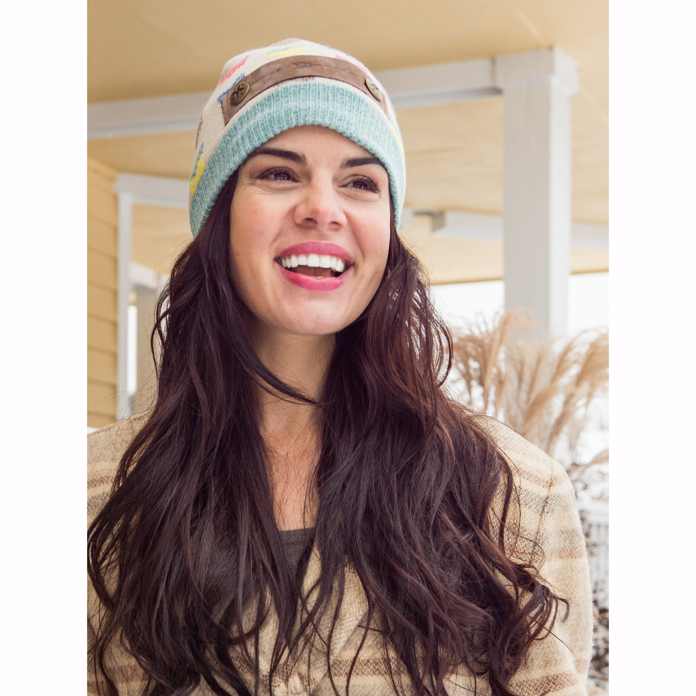 804d81b8253 Shop MUK LUKS® Women s Multi Beanie - Free Shipping On Orders Over  45 -  Overstock.com - 17031284
