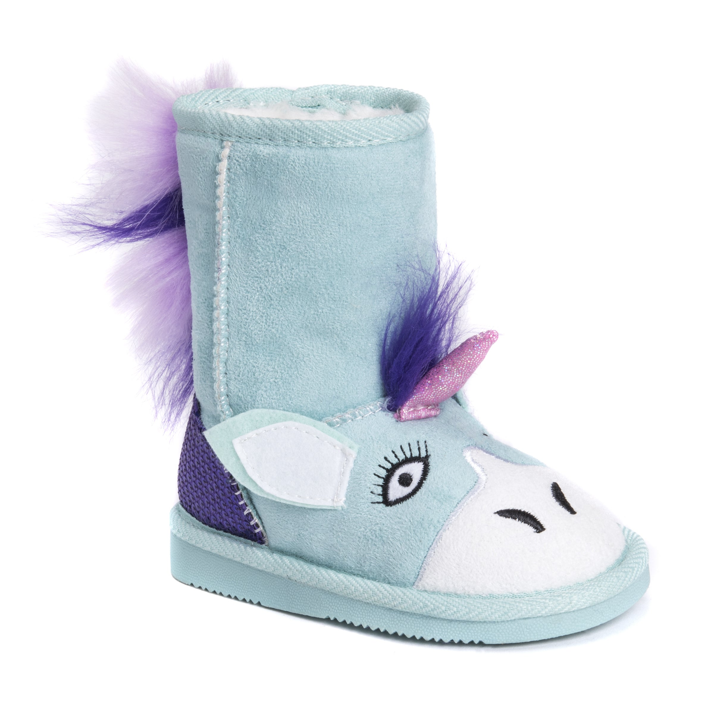 MUK LUKS Kid s Rainy Unicorn Boots Free Shipping Orders Over