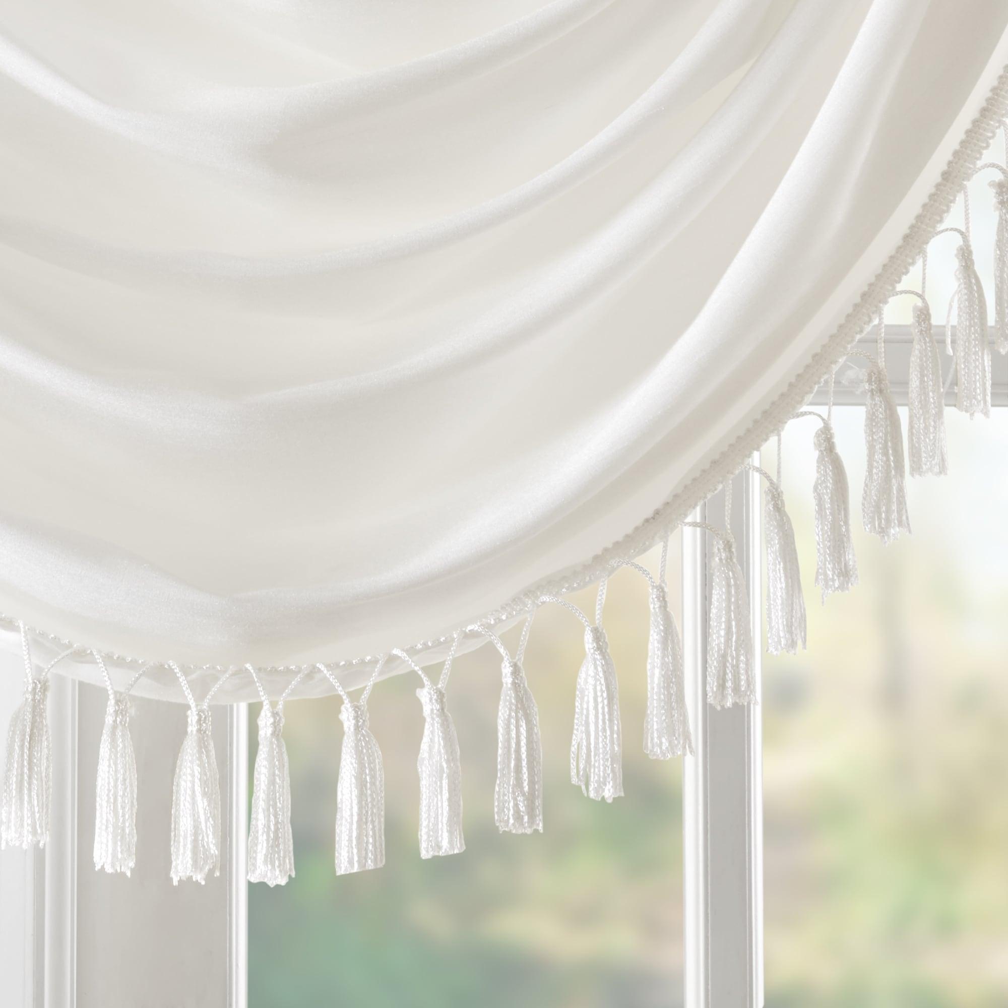 tapestry fabric x window valance valances como scalloped p lined
