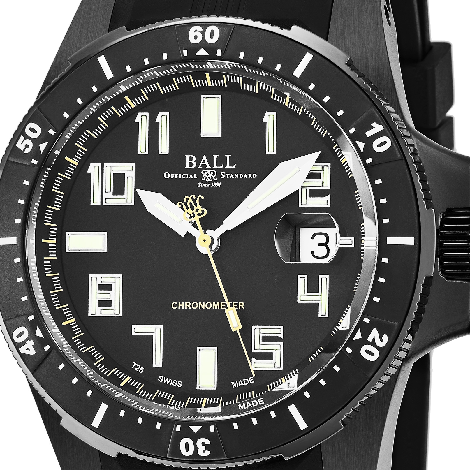 engineer master ii diver official automatic standard watches ball chronograph sales large