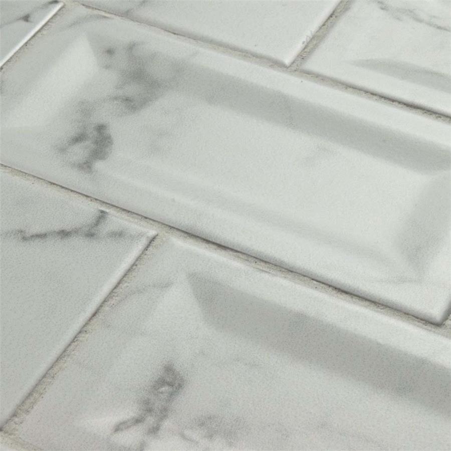 Somertile 3x6 inch carra carrara matte inmetro ceramic wall tile 88 somertile 3x6 inch carra carrara matte inmetro ceramic wall tile 88 tiles1241 sqft free shipping today overstock 23315250 dailygadgetfo Image collections
