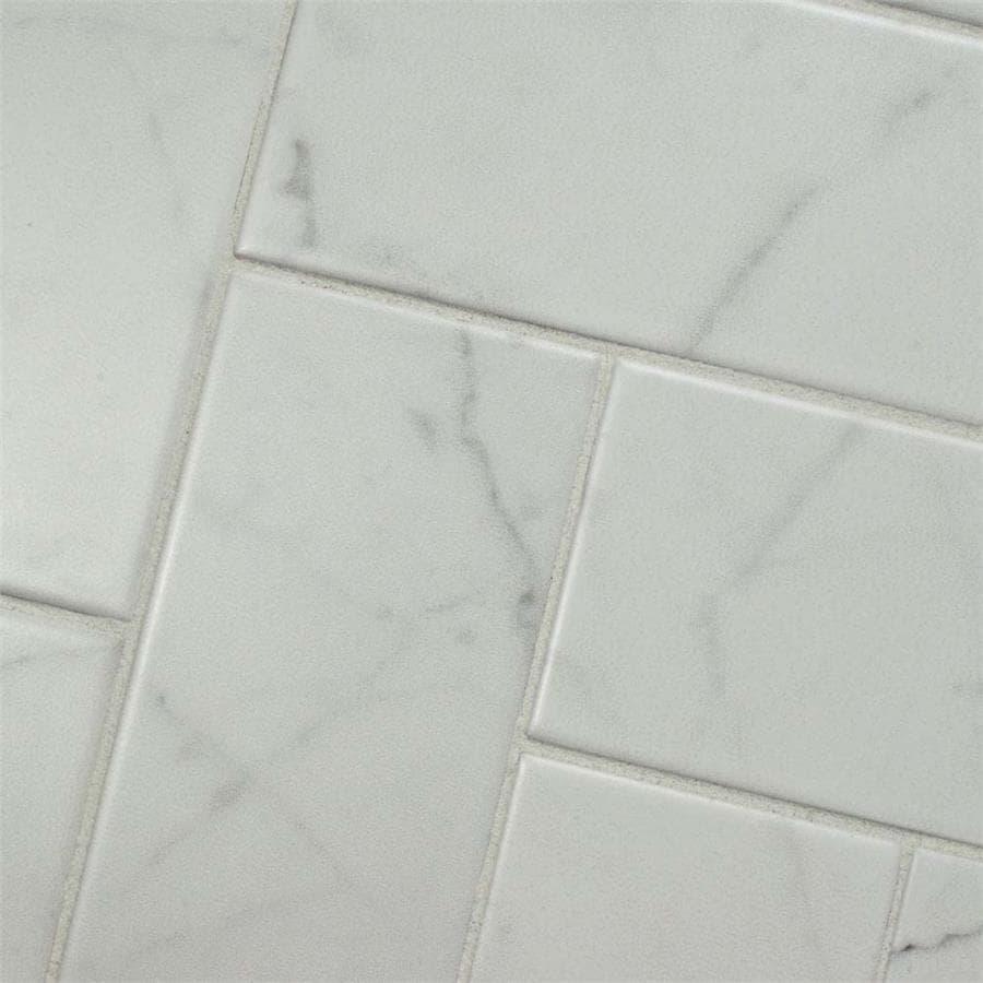 Somertile 3x6 inch carra carrara matte ceramic wall tile 88 tiles somertile 3x6 inch carra carrara matte ceramic wall tile 88 tiles1241 sqft free shipping today overstock 23315236 dailygadgetfo Image collections