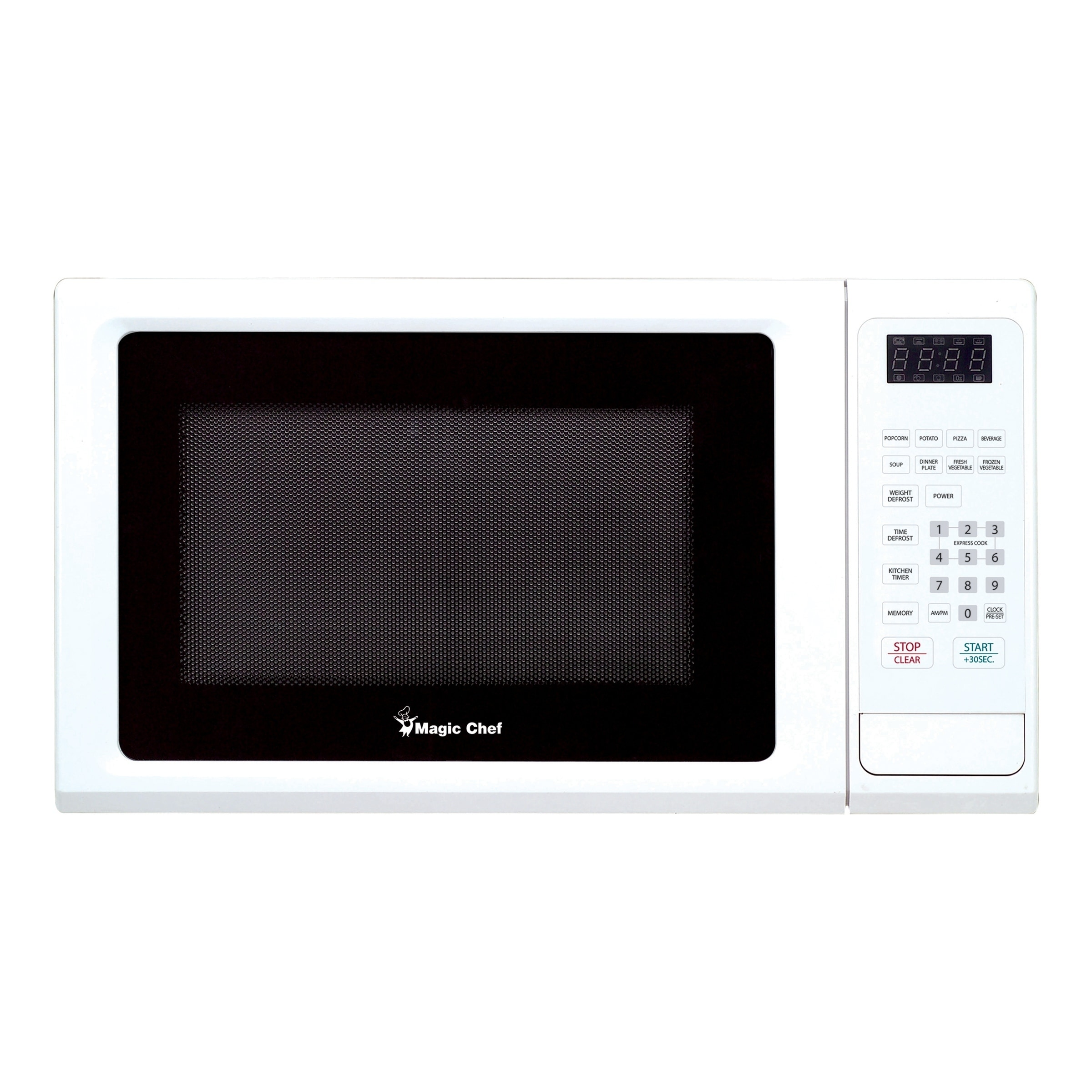 Magic Chef 1 Cubic Ft Countertop Microwave Oven White Free Shipping Today 17039772