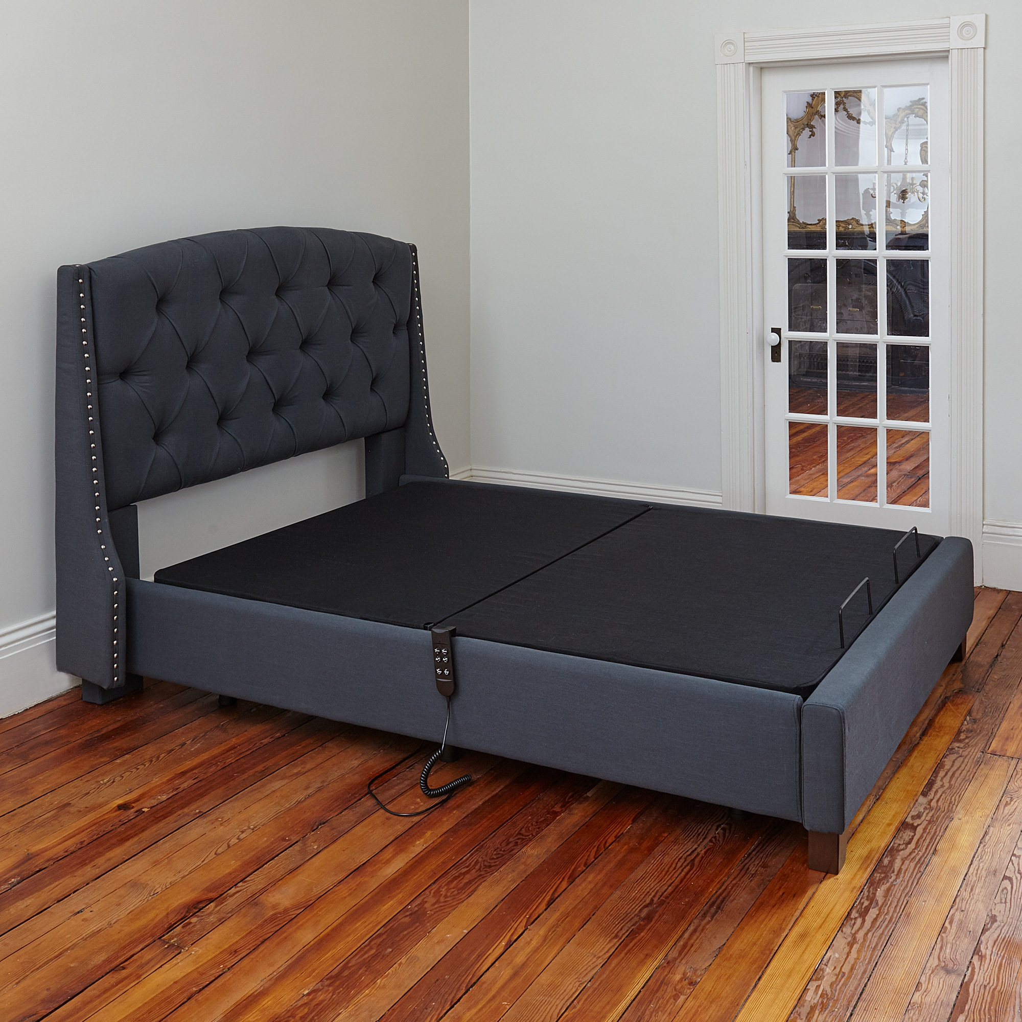 brookside overstock home shipping product today adjustable garden base bed classic free