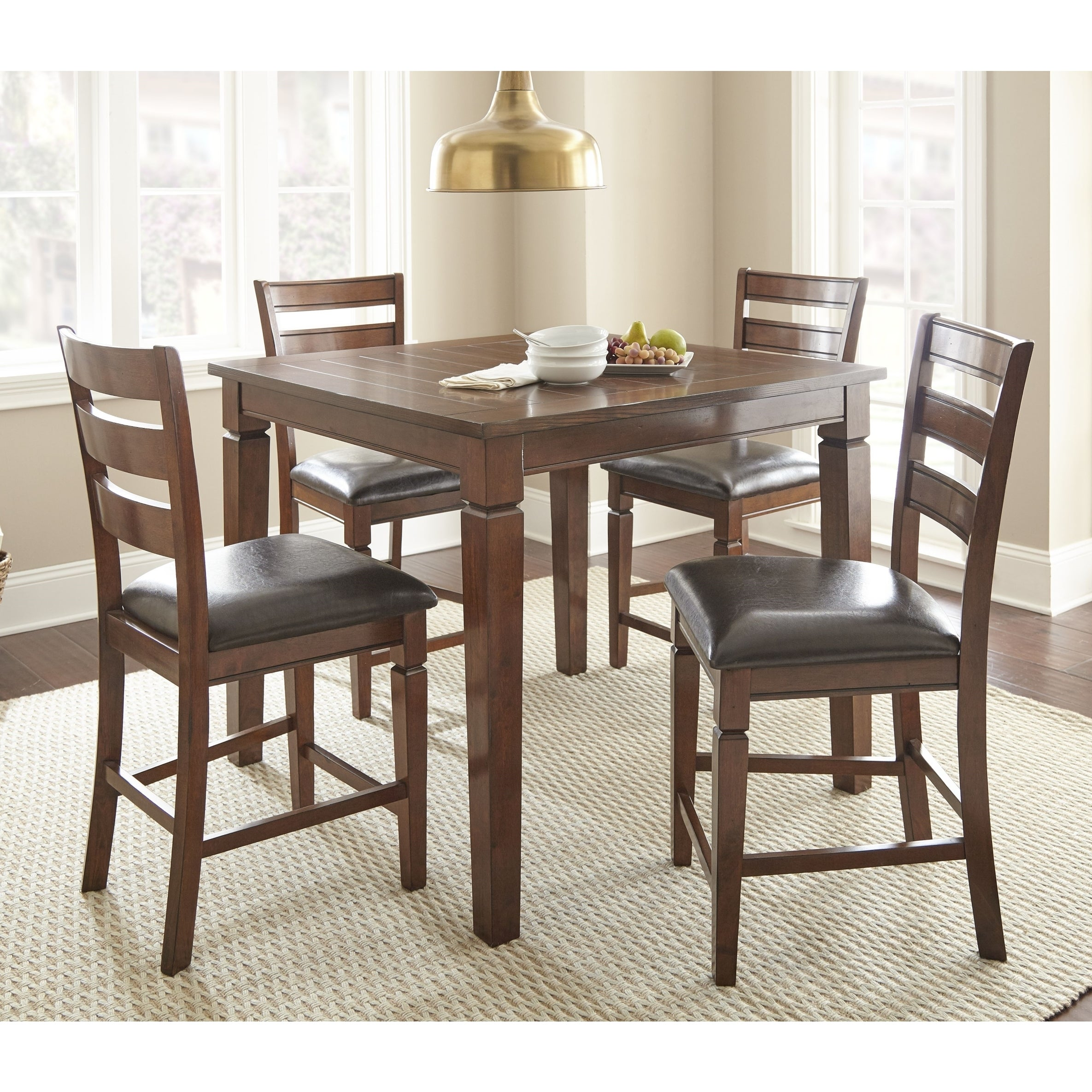 Knox 5 Piece Counter Height Dining Set by