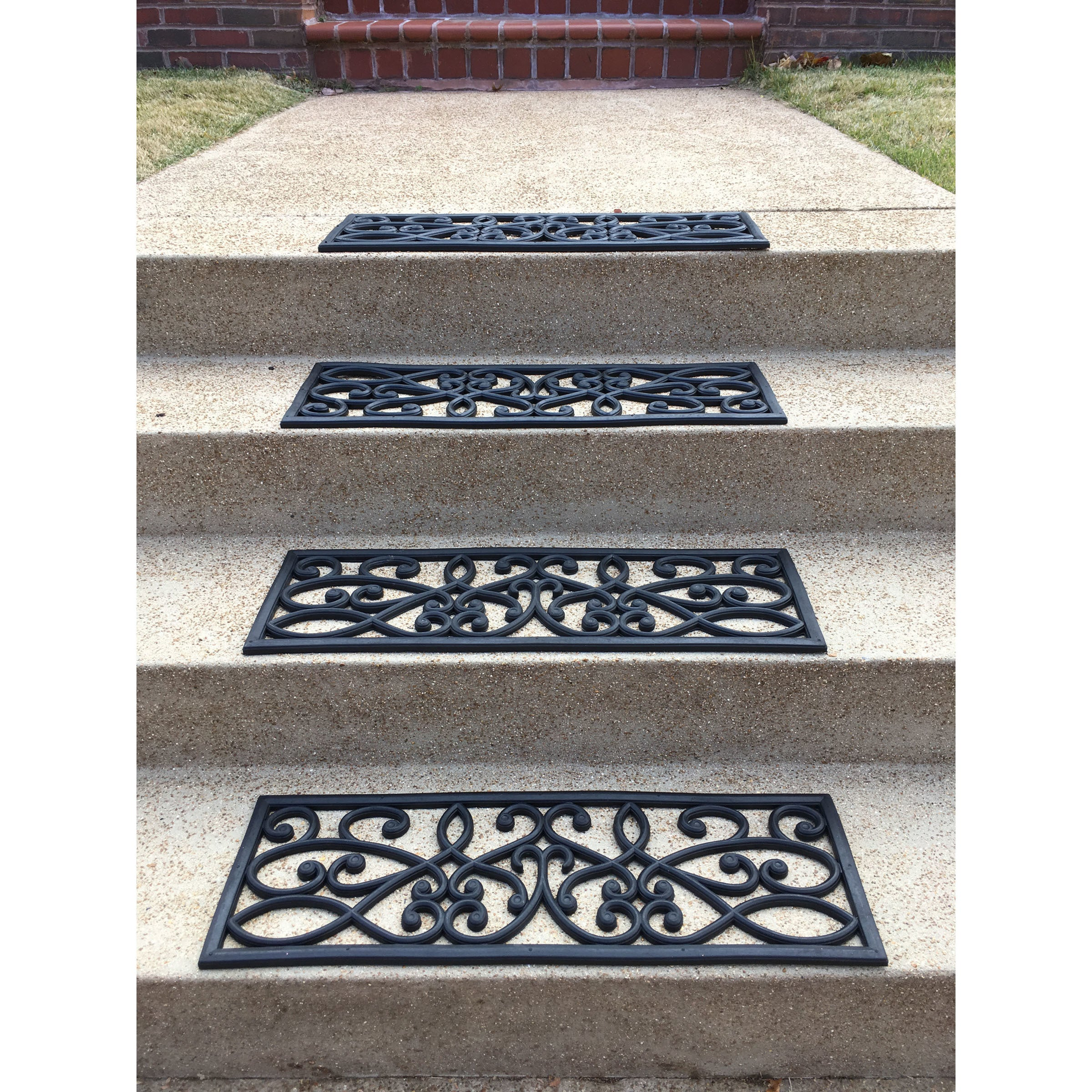 with doormats x and mat h to best add your the stair entryways outdoor doormat treads squares images w post an rubber feature mats this interest architectural