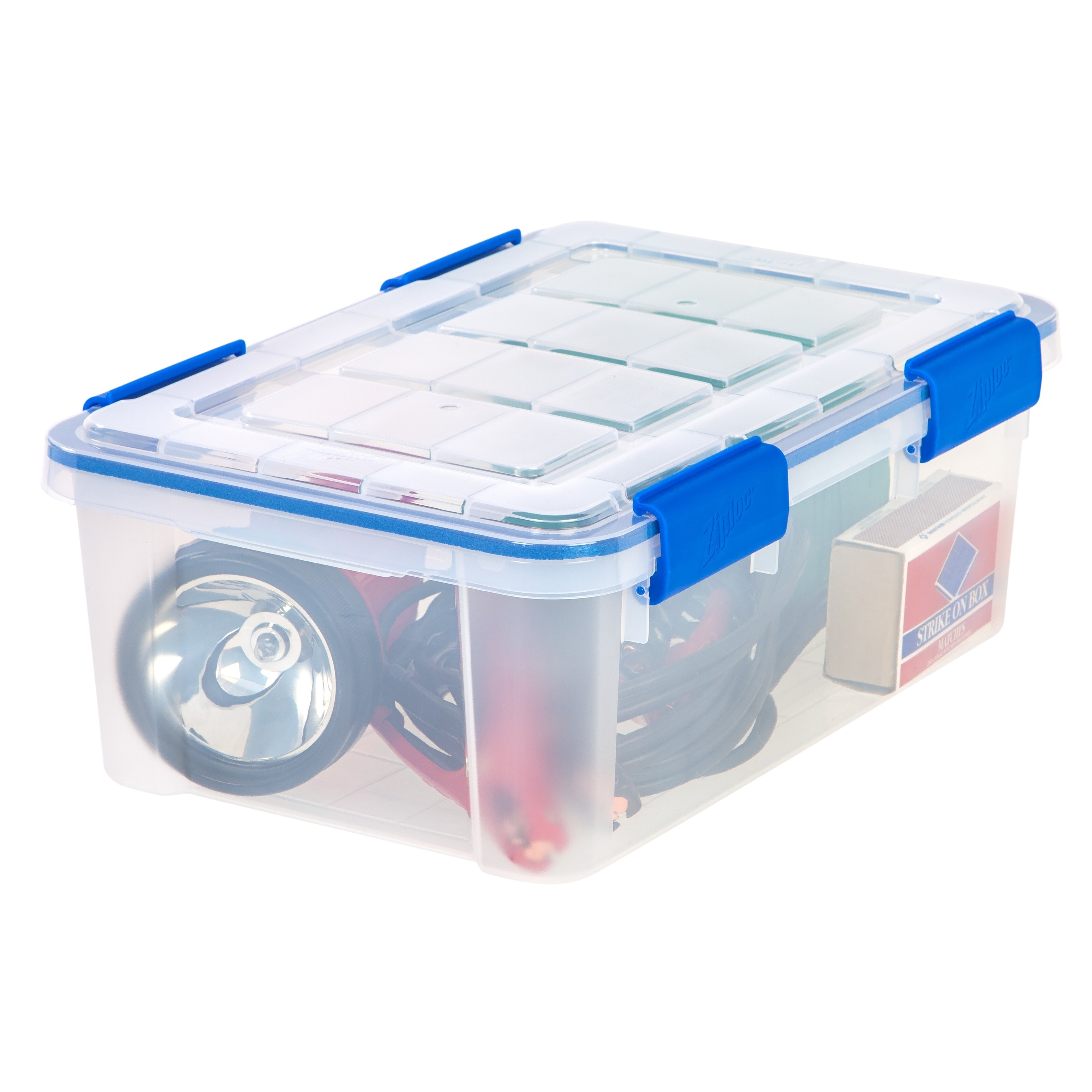 Shop Ziploc WeatherShield 16 qt. Plastic Storage Bin (Pack of 6 ...
