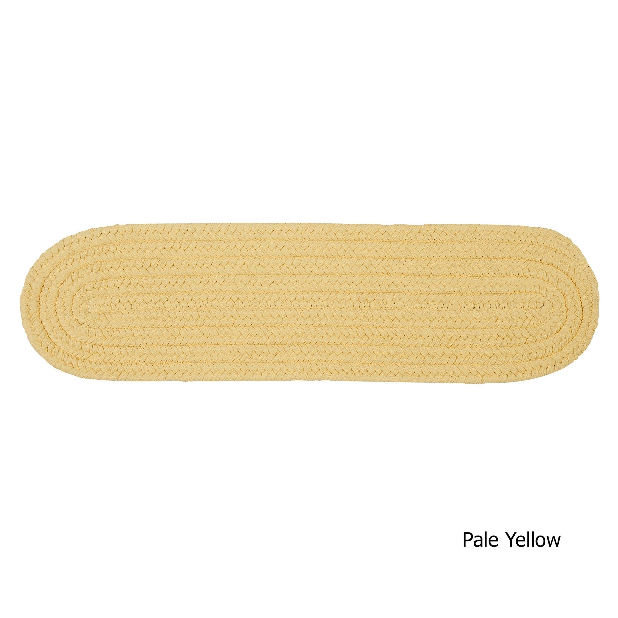 Twenty Colors Solid Oval Braided Stair Treads (Set Of 13)   8 Inch X 28 Inch    Free Shipping Today   Overstock   23368625