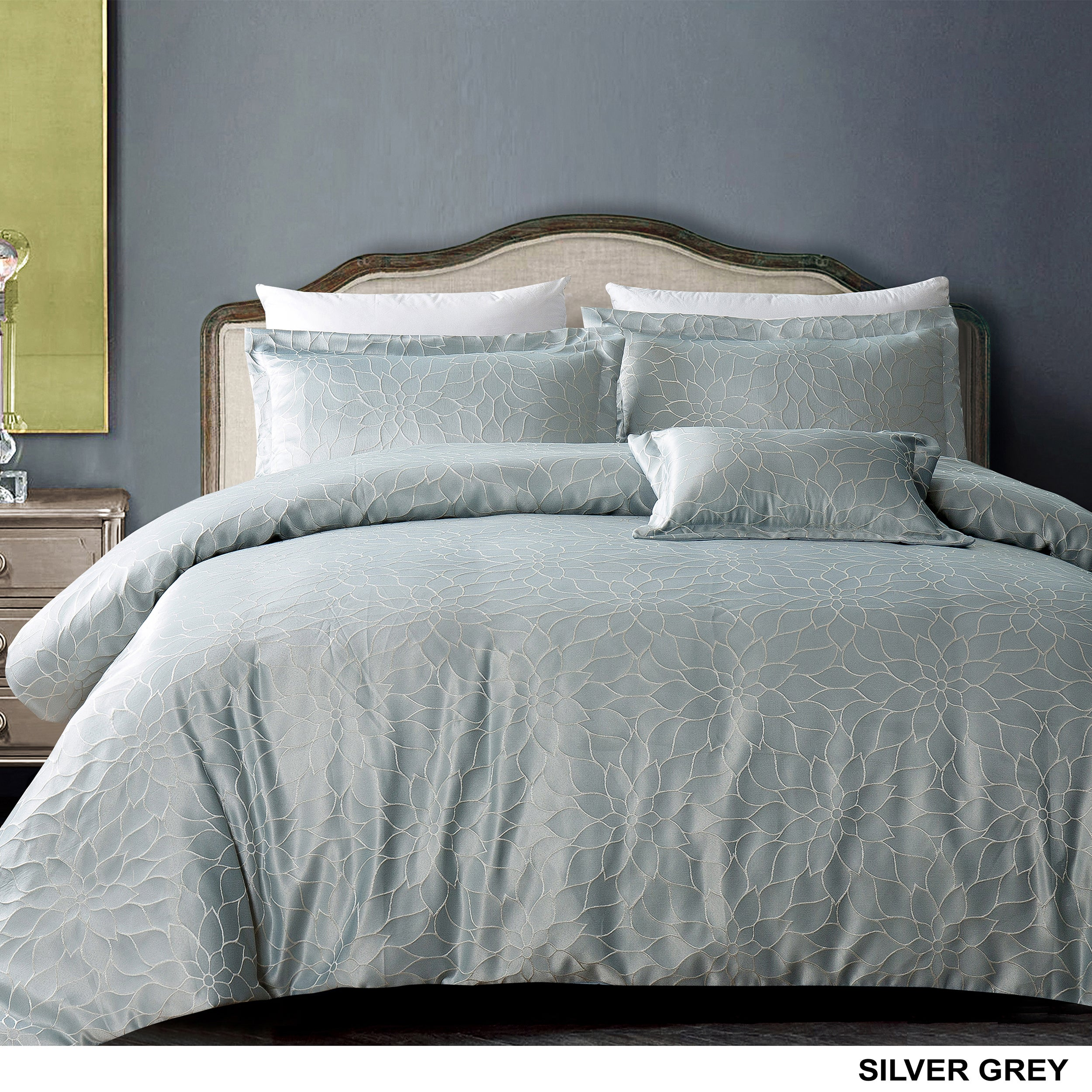 p bedding silver set full grey sets soft blush and truly everyday reversible queen comforter