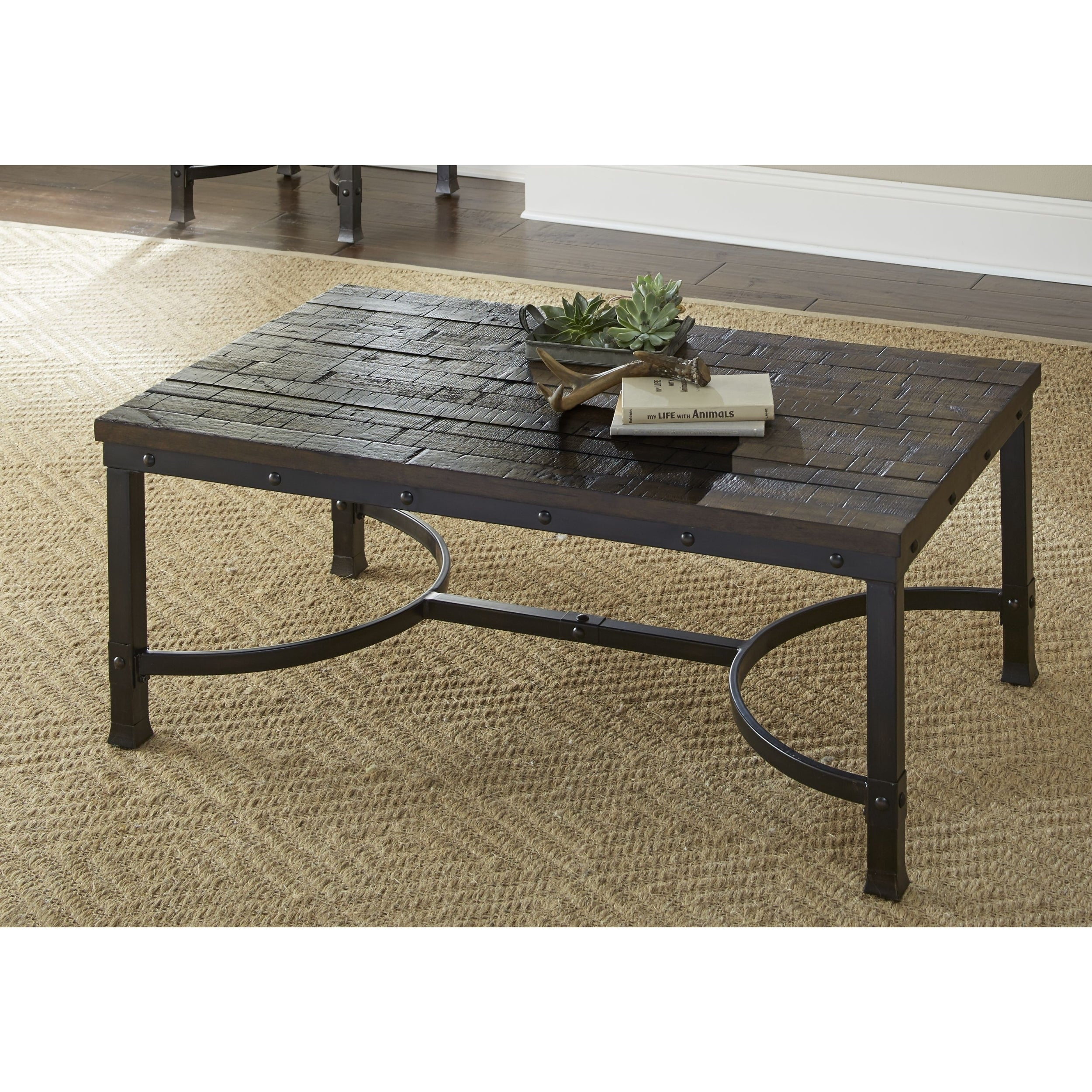 industrial style outdoor furniture. Austin Industrial Style 48-Inch Rectangle Coffee Table By Greyson Living - Free Shipping Today Overstock 23384682 Outdoor Furniture T