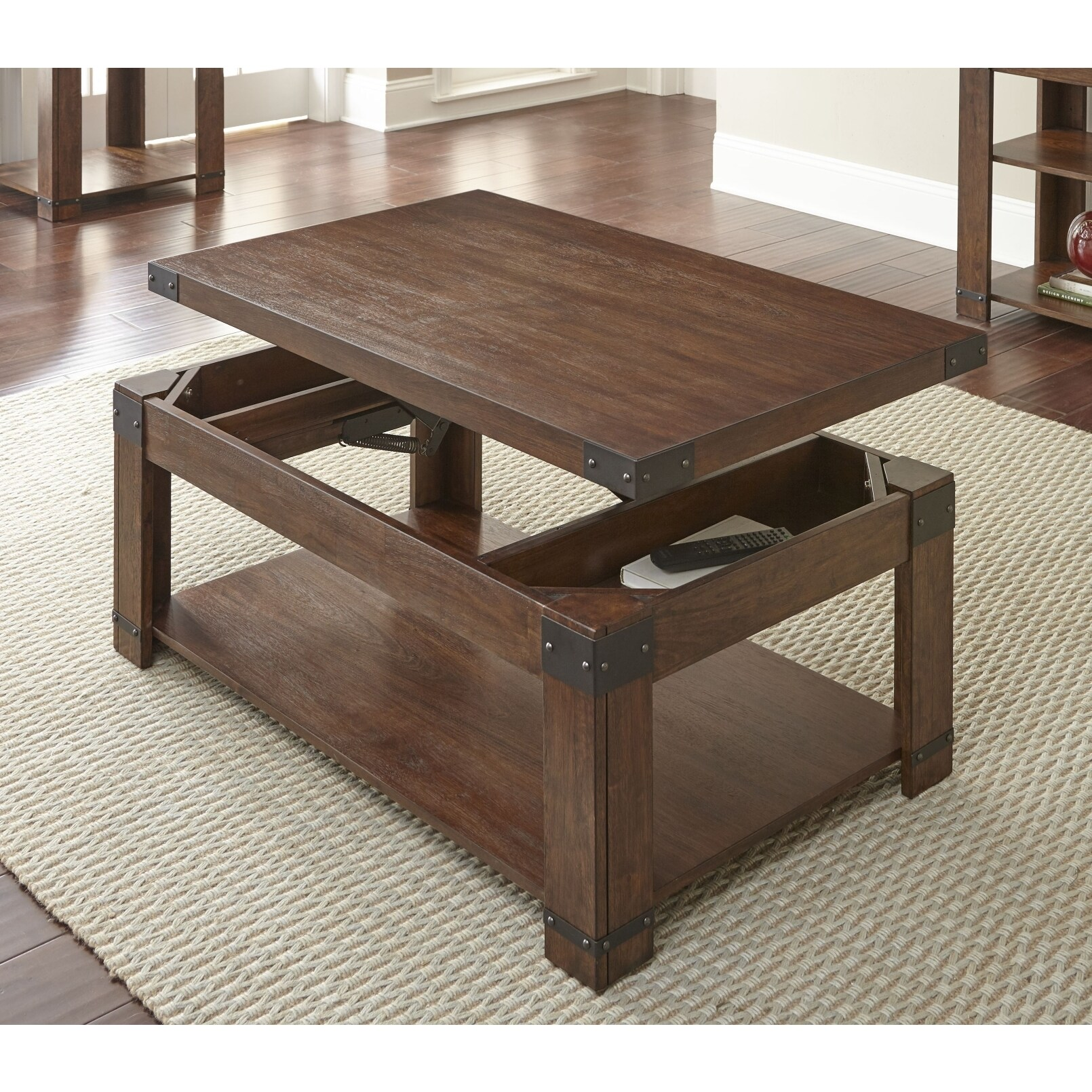 Shop Aldridge 48 Inch Rectangle Lift Top Coffee Table By Greyson