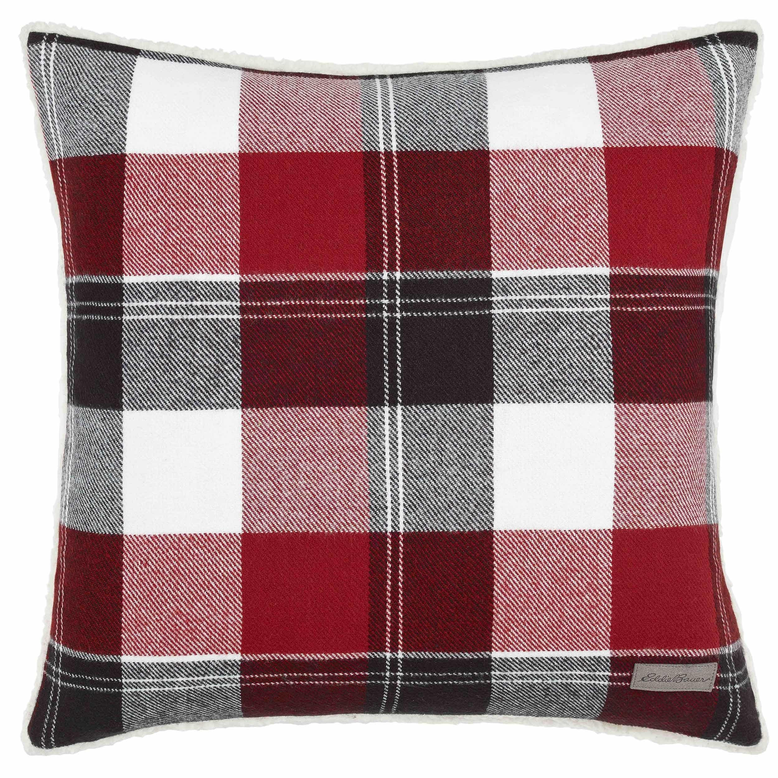 Eddie Bauer Lodge Red Throw Pillow Free Shipping On Orders Over  ~ Red Throw Pillows For Sofa