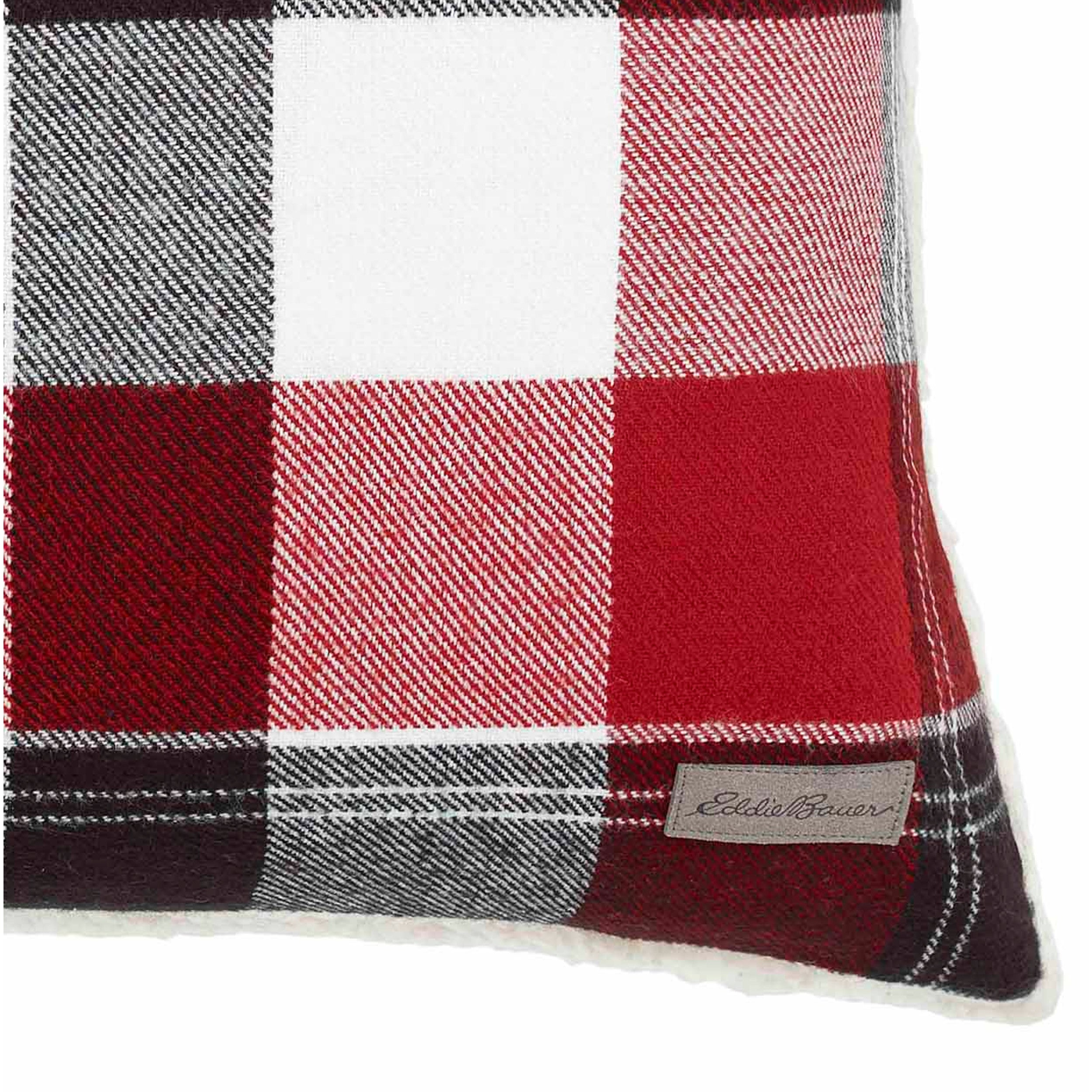 8949ae98 Shop Eddie Bauer Lodge Red Throw Pillow - On Sale - Free Shipping On Orders  Over $45 - Overstock - 17116066