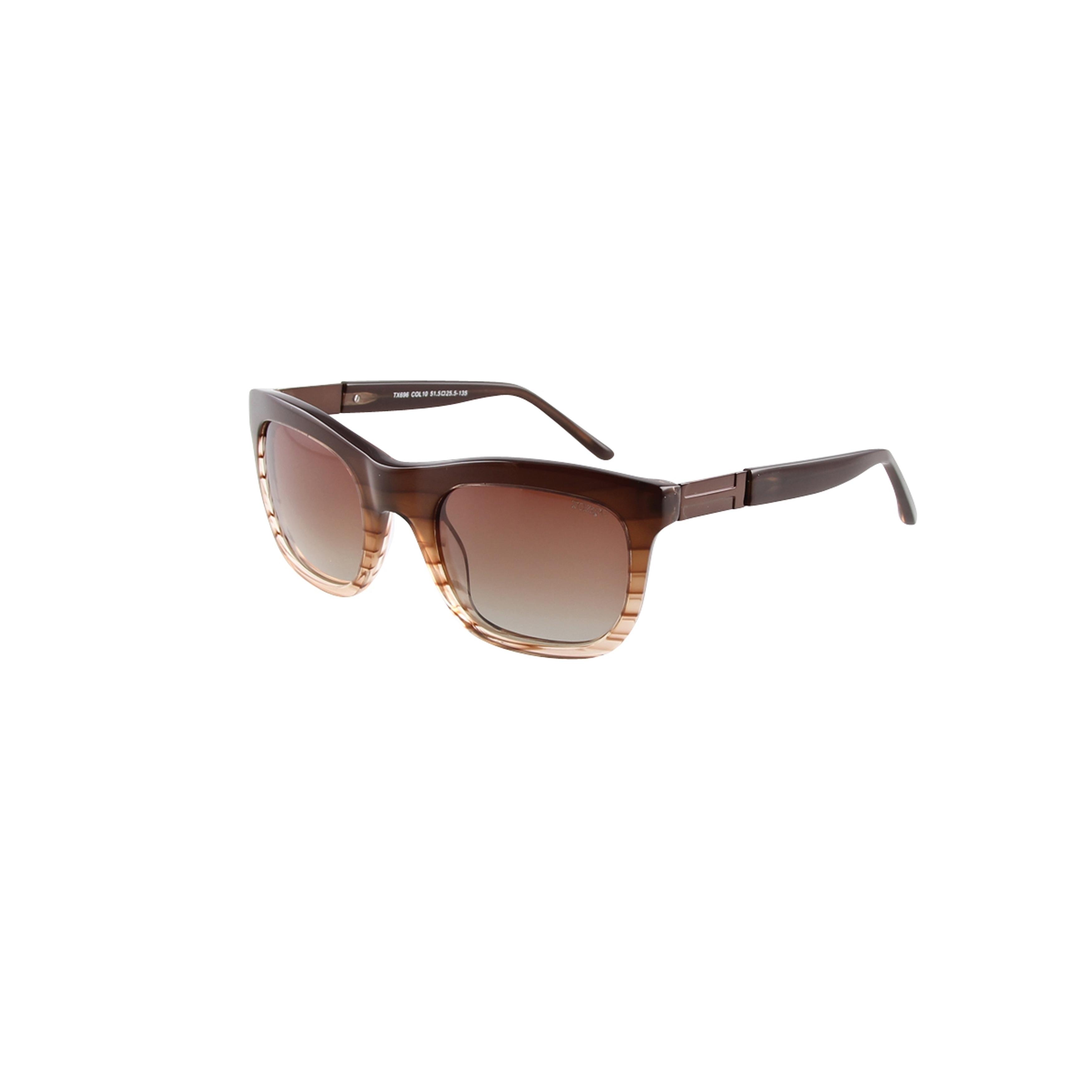 8878d560ce Shop Toxic Eyewear TX696-10 Brown Handmade Frame Brown Polarized lenses  Prescription adaptable - Free Shipping Today - Overstock - 17117744