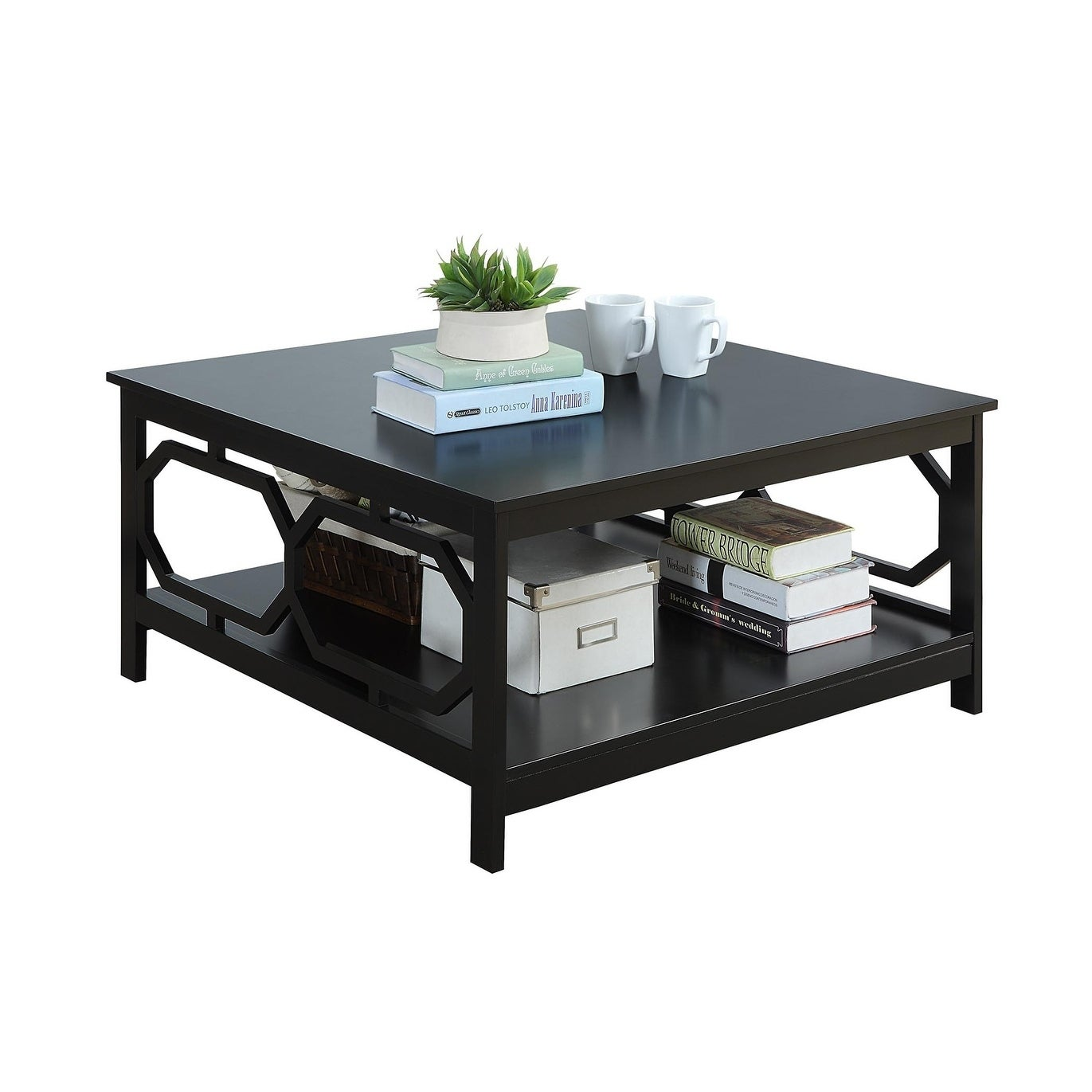 Convenience Concepts Omega 36 Inch Square Coffee Table Free Shipping Today 17120668