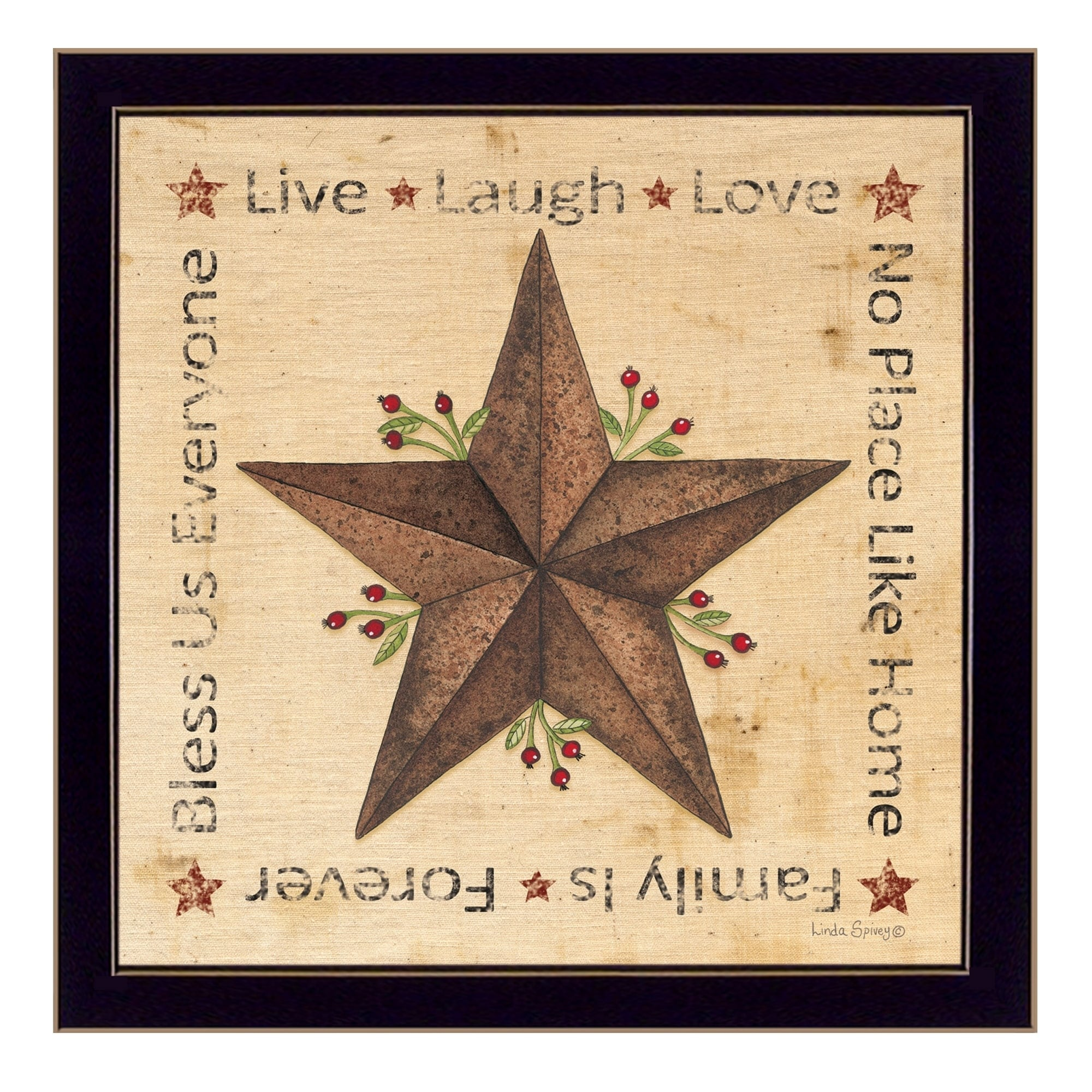 Live, Laugh, Love - Barn Star\