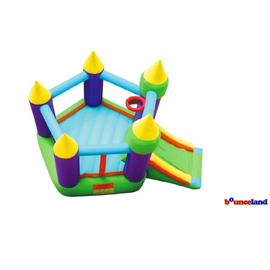 Shop Bounceland Bounce House - Magic Castle Bounce N' Slide w/hoop - Free  Shipping Today - Overstock.com - 17127769