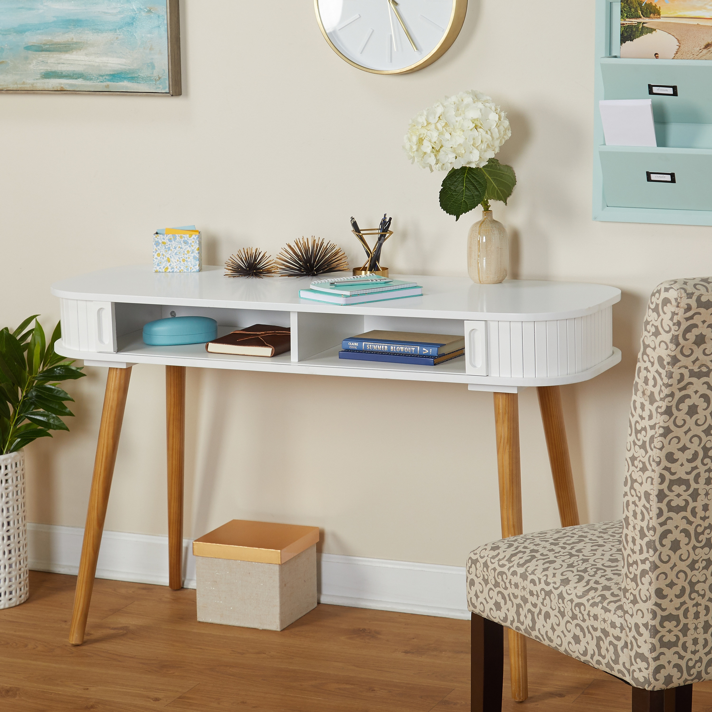 Shop Simple Living Edie Desk - Free Shipping Today - Overstock.com ...