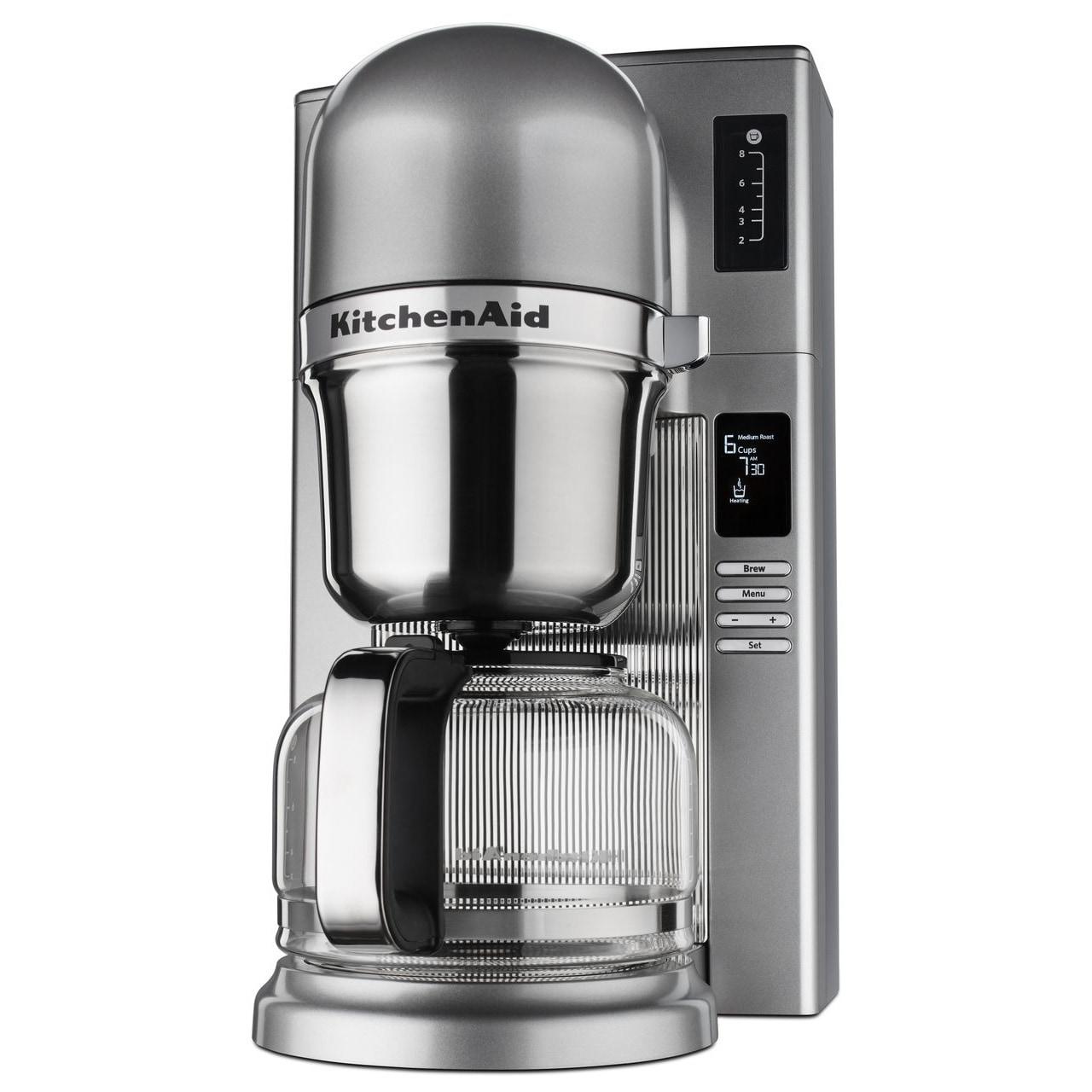 Shop KitchenAid Custom Pour Over 8 Cup Coffee Maker Contour Silver