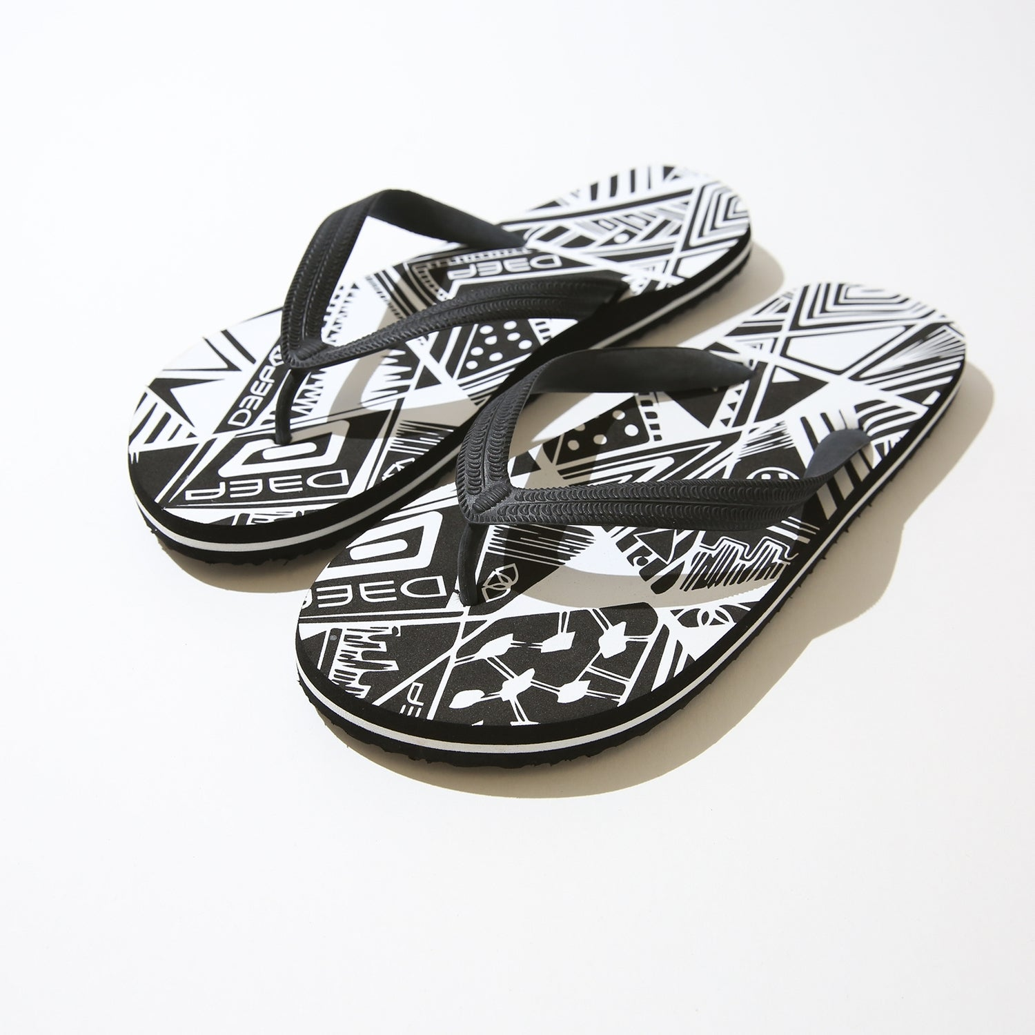 ce22642b4 Shop Deep Lifestyles White  Black Zebra Print Women Summer Sandals Comfort  Casual Thong Flat Slipper Flip Flops Flip-Flop Flipflops - Free Shipping On  ...