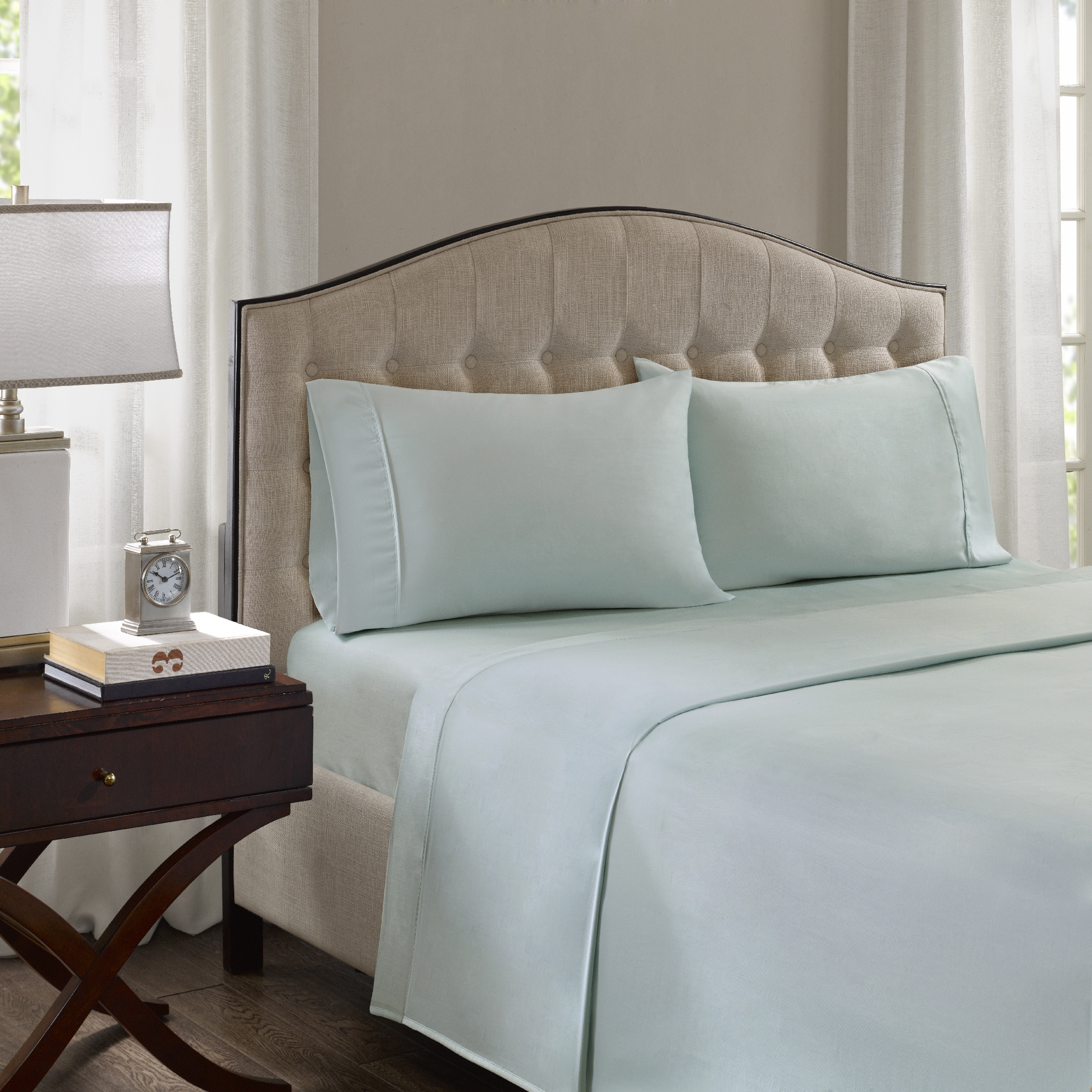 Incroyable Shop Madison Park 1500 Thread Count Luxury Cotton Rich Blend Sheet Set    Free Shipping Today   Overstock.com   17137946