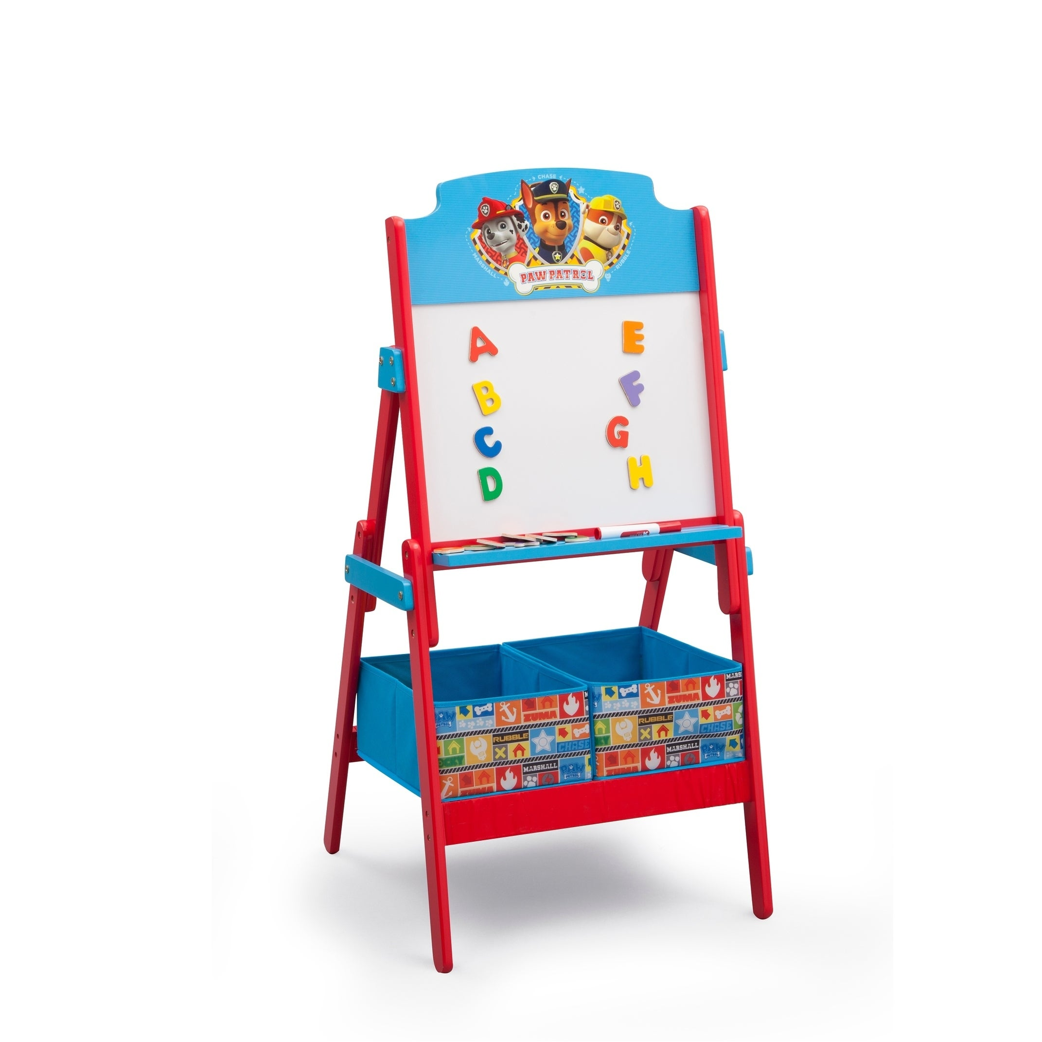 Nick Jr  PAW Patrol Activity Easel with Dry Erase Board and Magnetic  Letters - Multi