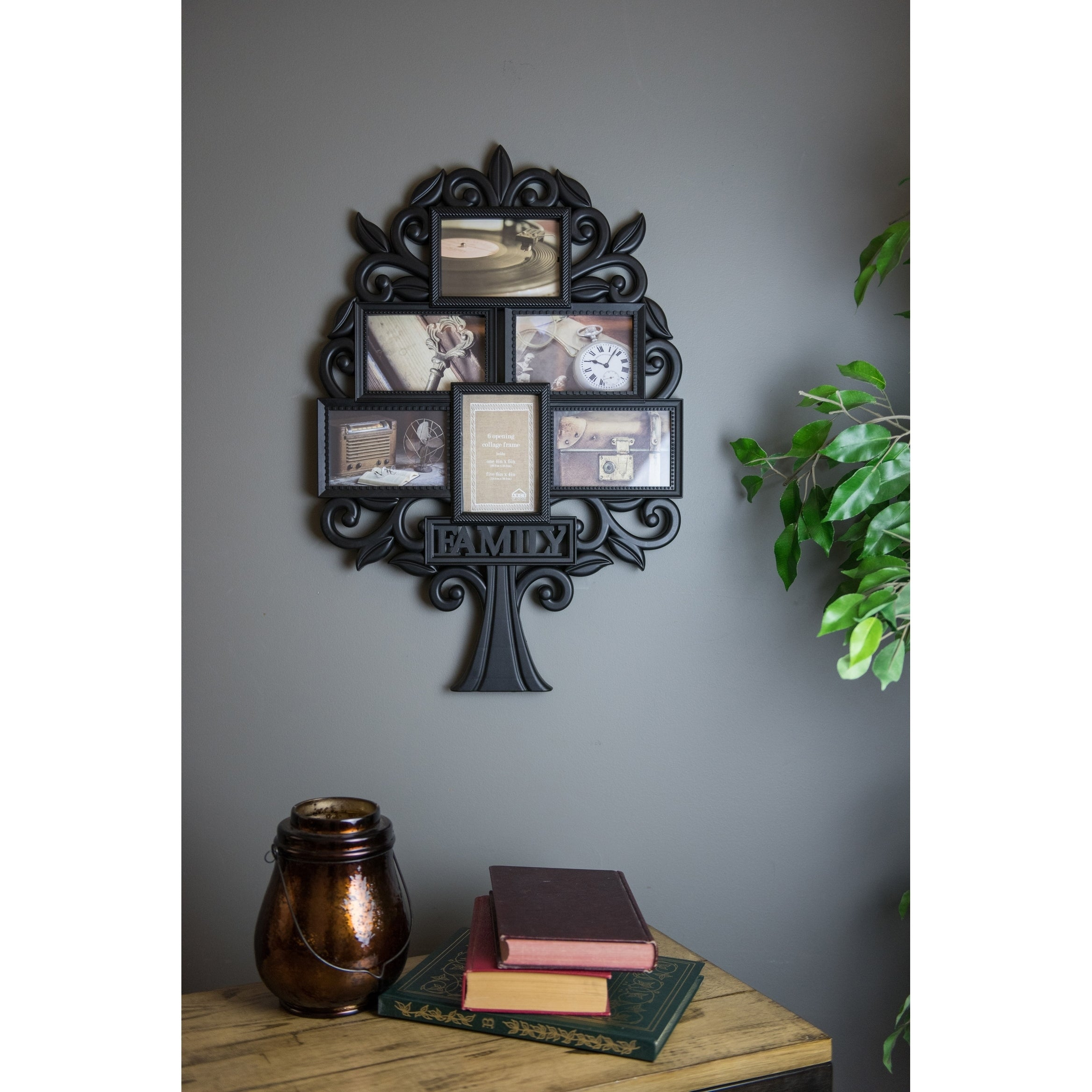 Shop Family Tree Collage Wall Frame - Free Shipping On Orders Over ...