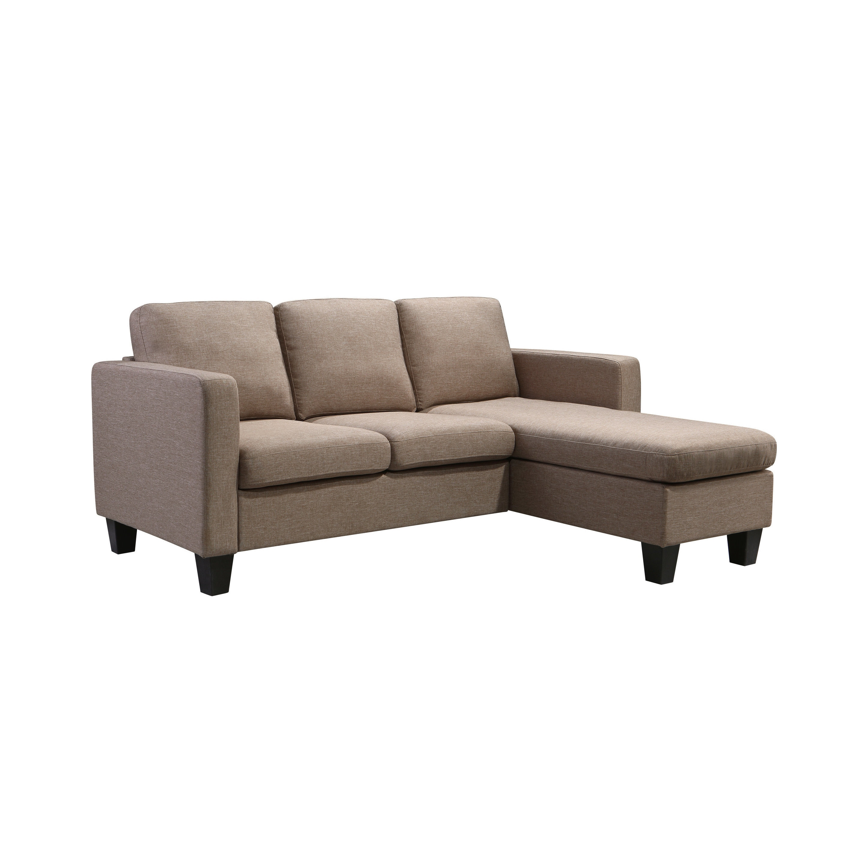 Charmant Shop Kinnect Park 2 Seat Sofa With Chaise Lounger   Free Shipping Today    Overstock.com   17159760