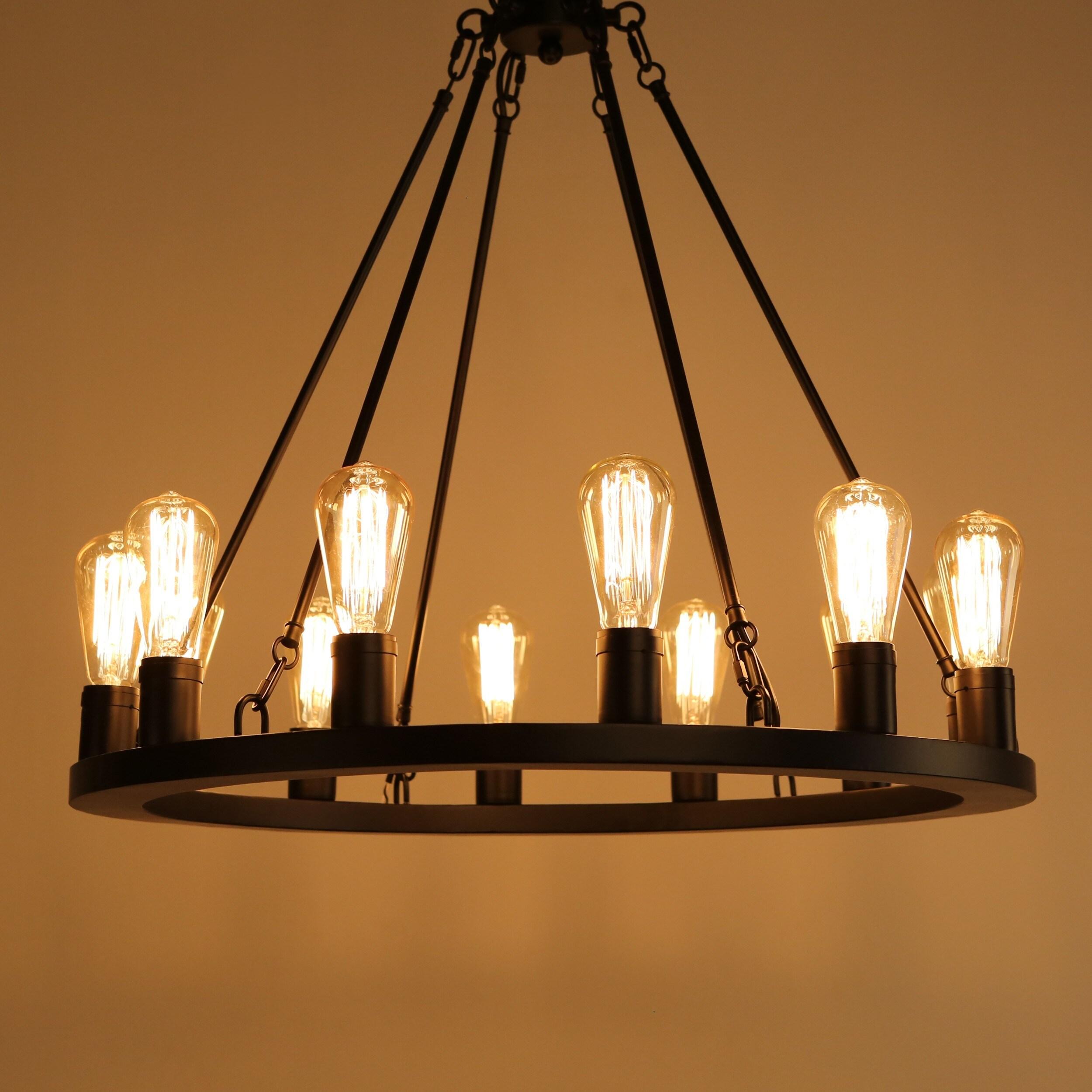 journee lighting. Journee Home Rifkin Iron 25-inch Hardwired Chandelier - Free Shipping Today Overstock 23426315 Lighting