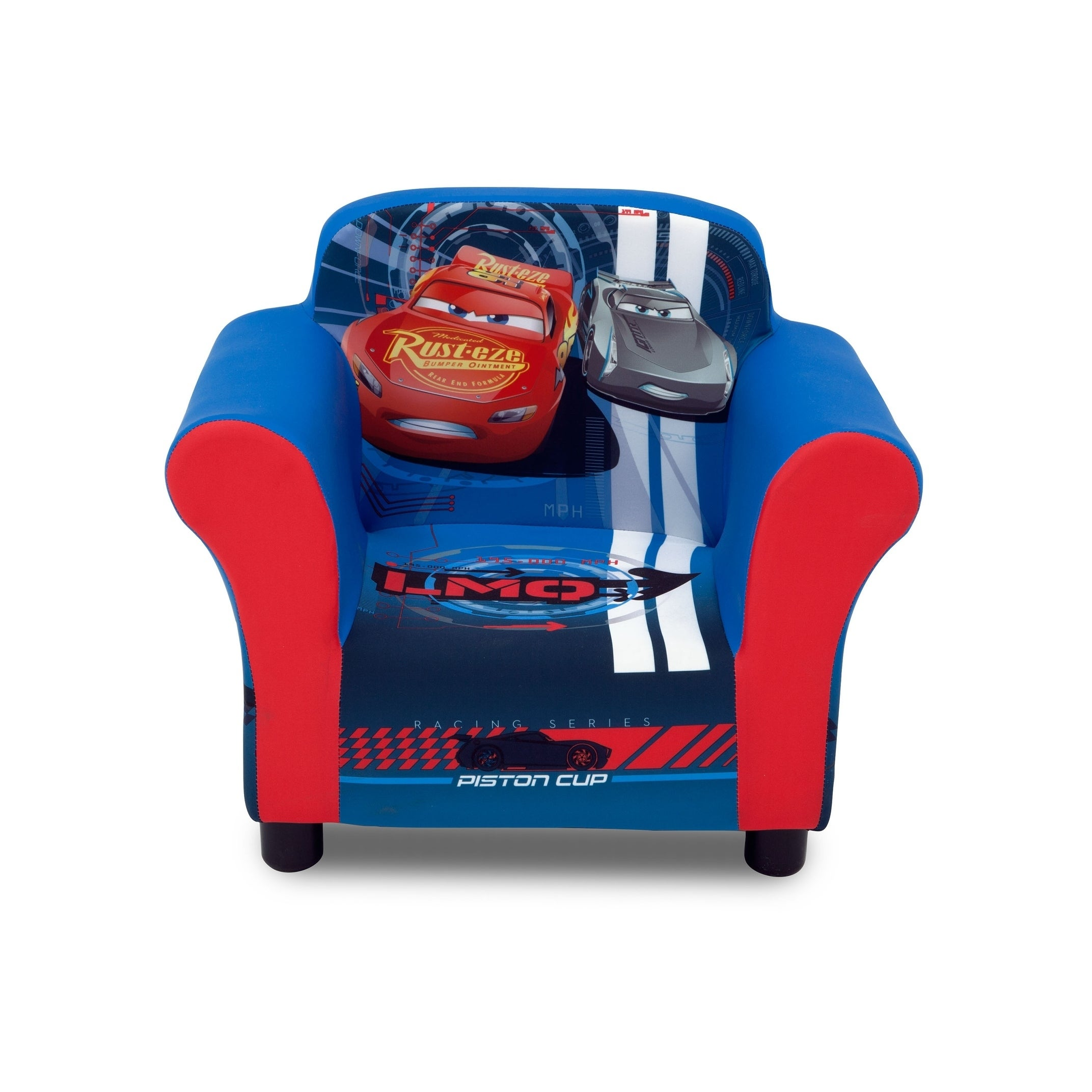 chair boston left view upholstred red products redsox kids upholstered delta sox children